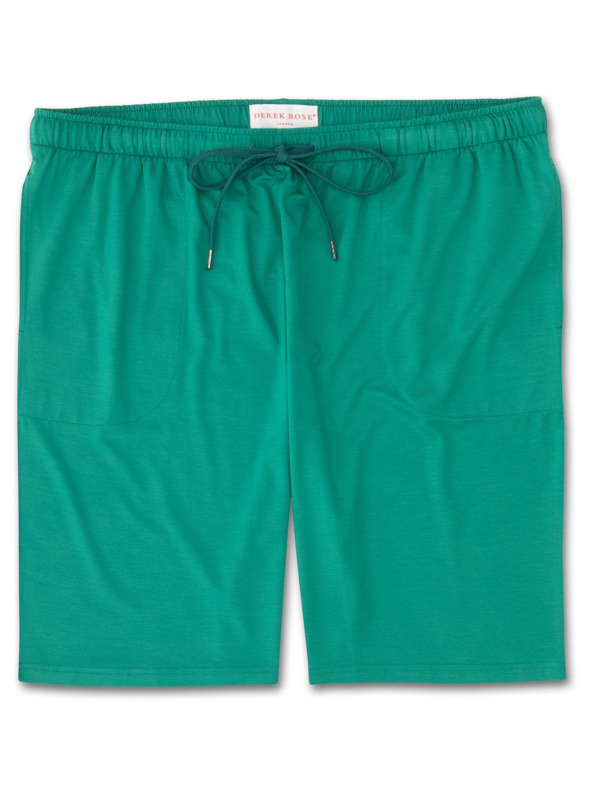 Men's Jersey Shorts Basel 6 Micro Modal Stretch Green