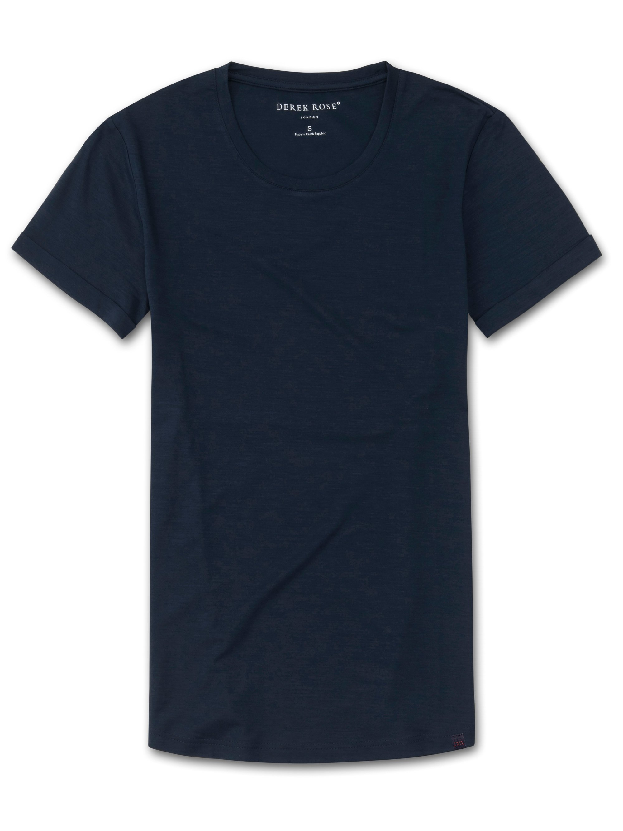 Women's Leisure T-Shirt Lara Micro Modal Stretch Navy