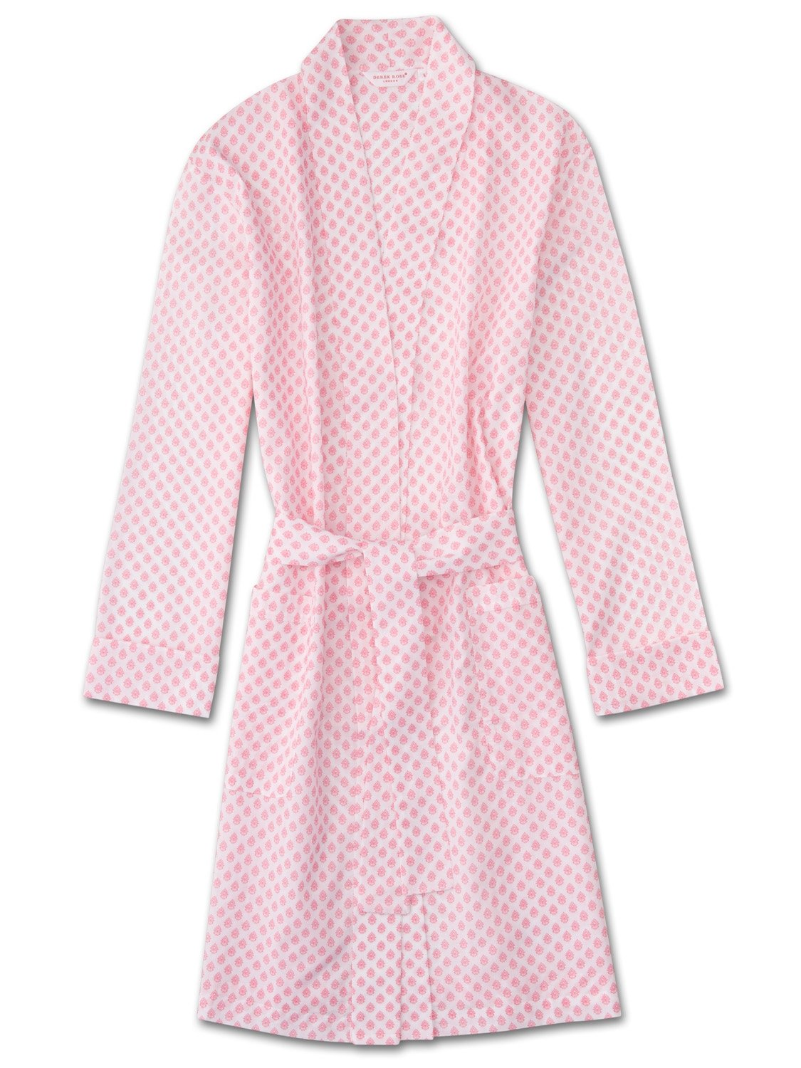 Women's Dressing Gown Ledbury 9 Cotton Batiste White