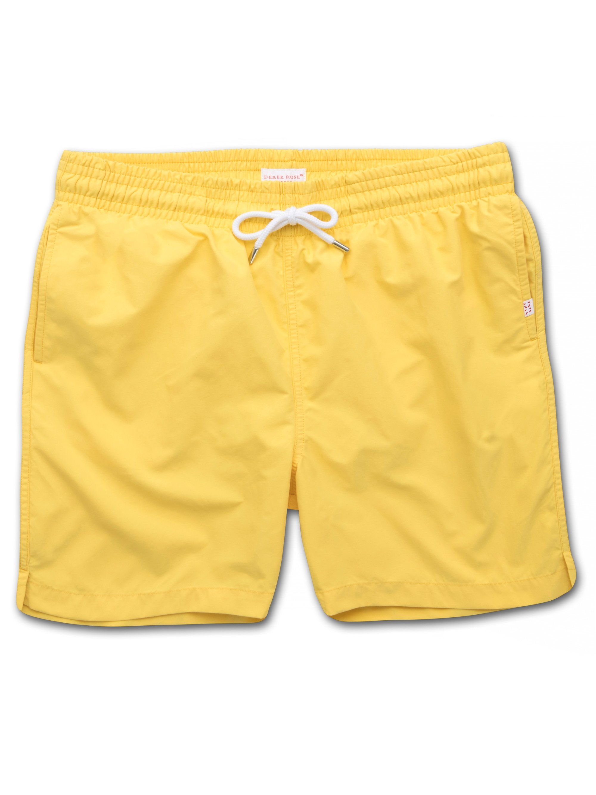 Men's Classic Fit Swim Shorts Aruba Yellow