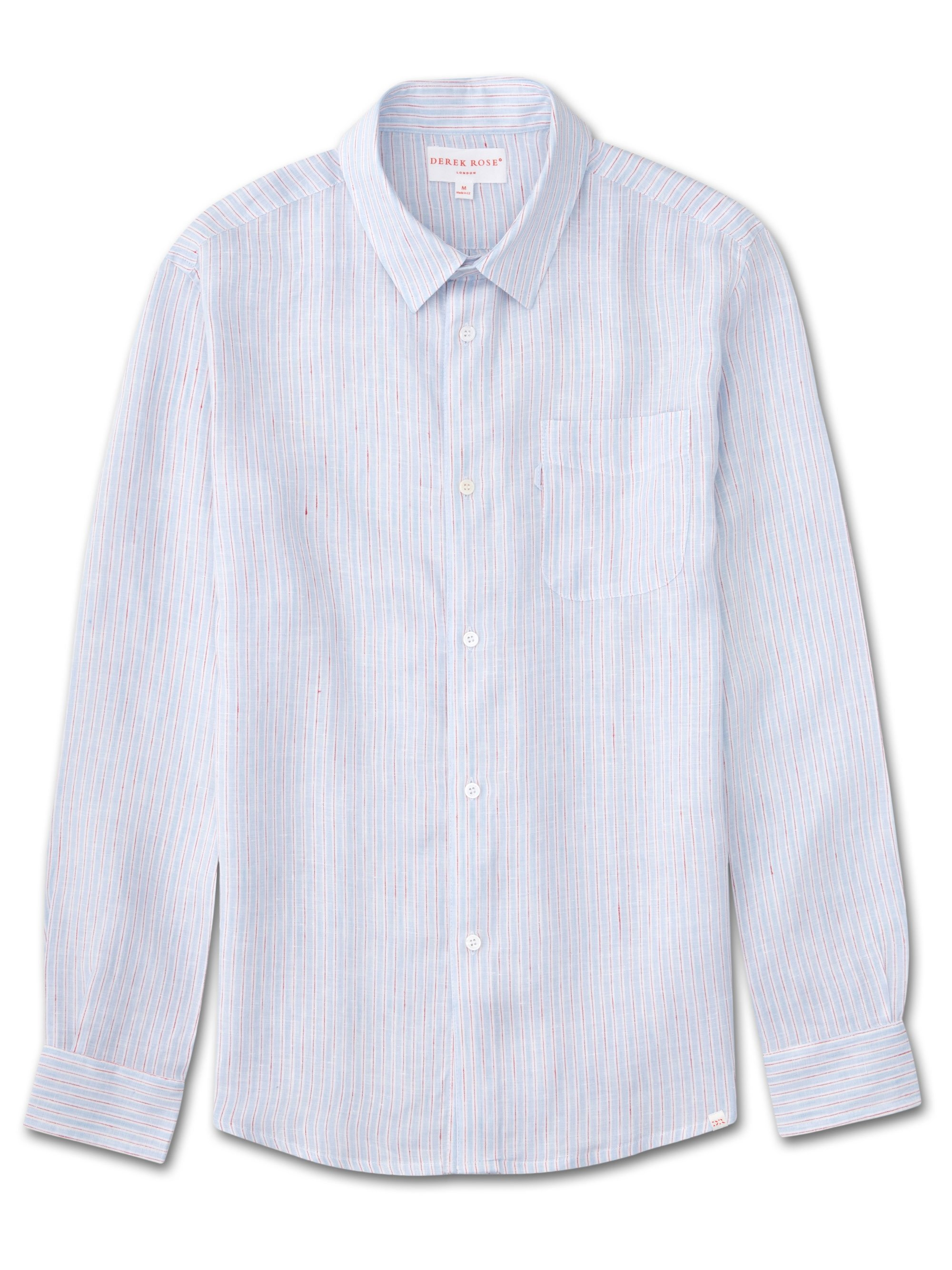 Men's Linen Shirt Malibu Linen Blue