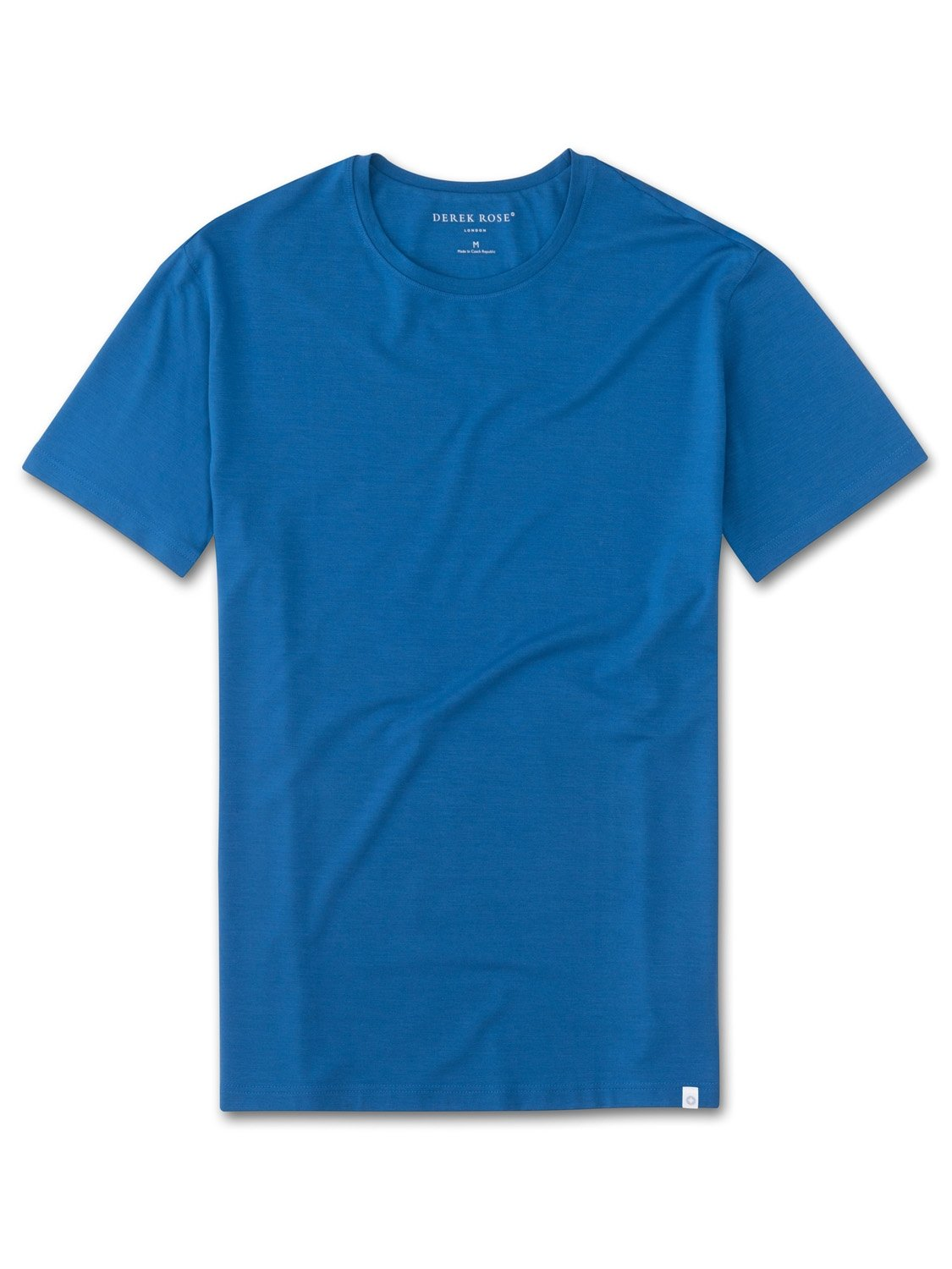 Men's Short Sleeve T-Shirt Basel 5 Micro Modal Stretch Blue