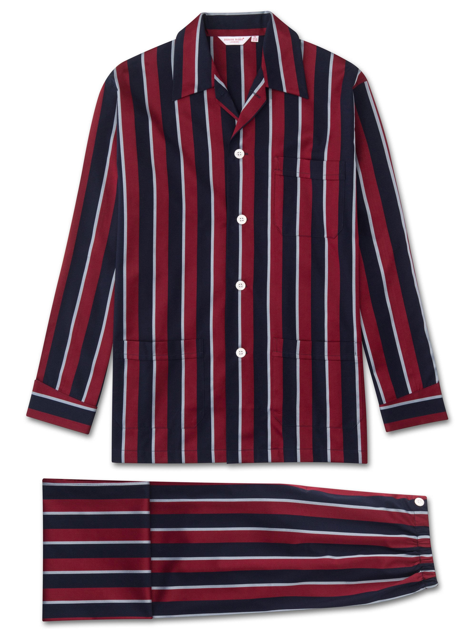 Men's pyjamas with regimental RAF stripe