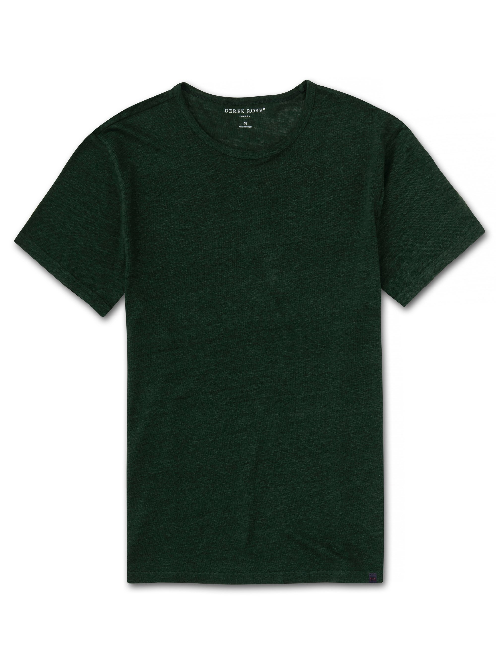 Men's Linen Short Sleeve T-Shirt Jordan Pure Linen Green