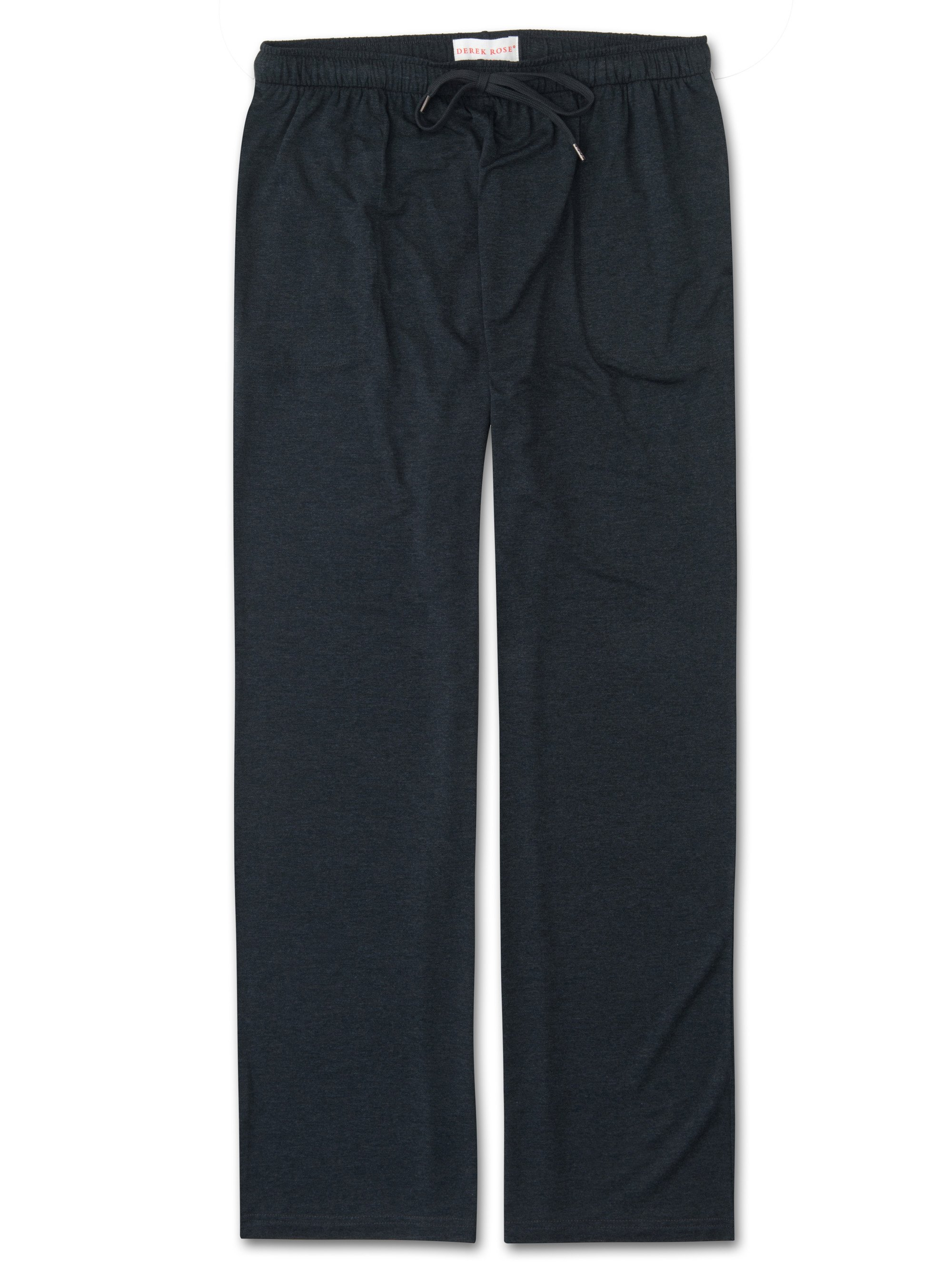 Men's Jersey Trousers Marlowe Micro Modal Stretch Anthracite