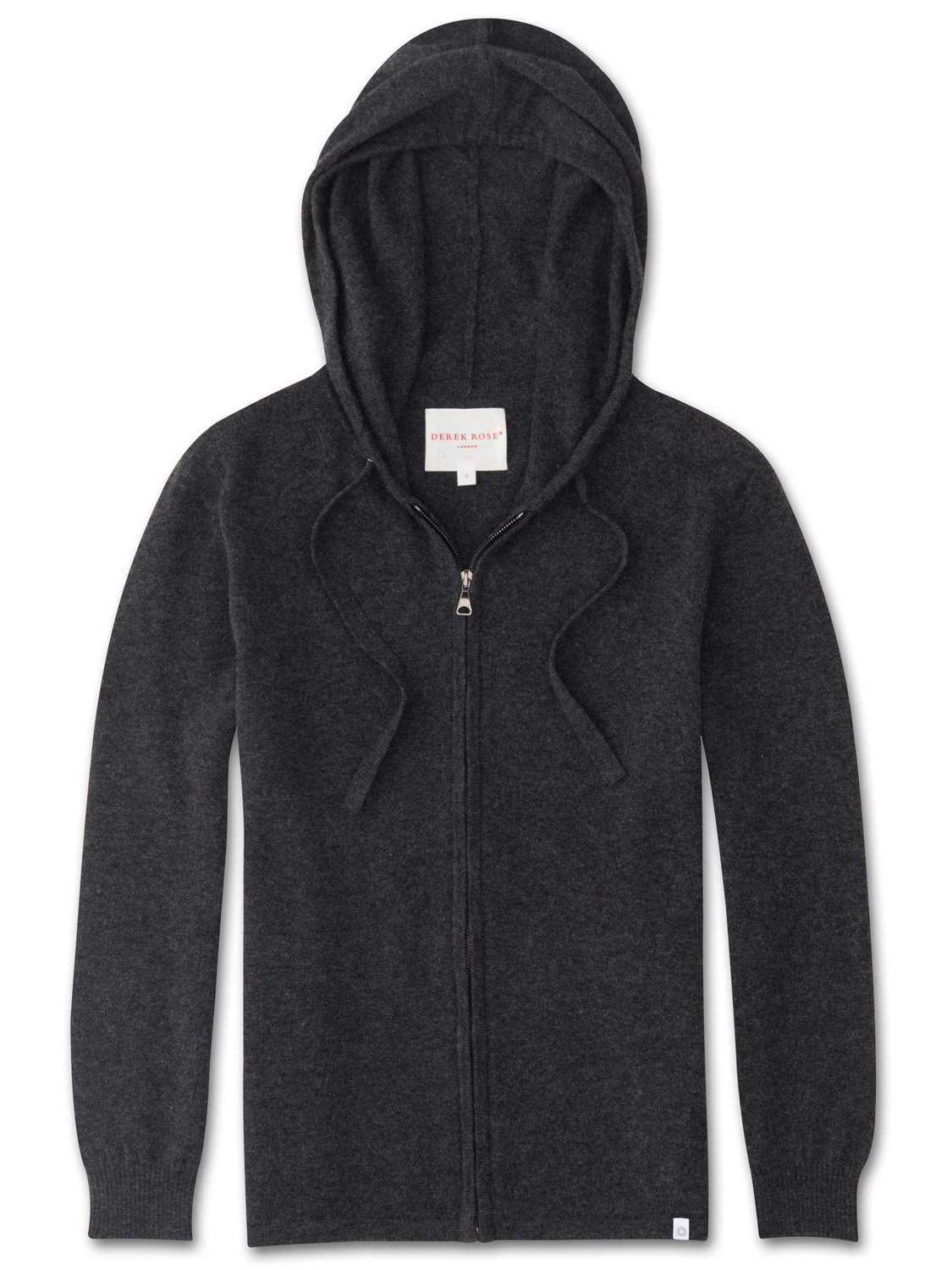 Women's Cashmere Hoodie Finley Pure Cashmere Charcoal