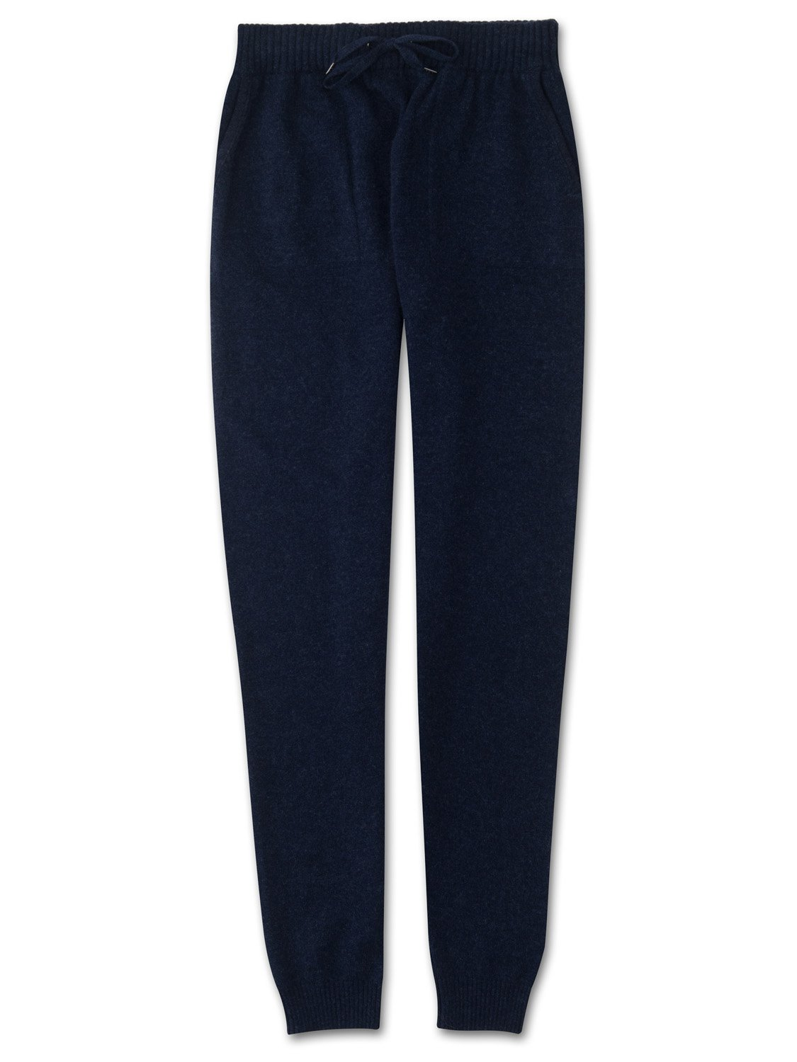 Women's Cashmere Track Pants Finley Pure Cashmere Midnight
