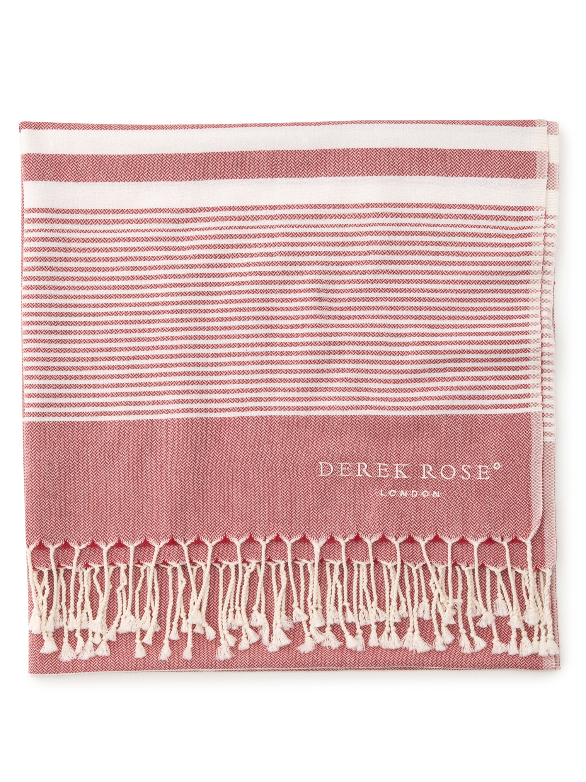Hammam Towel Karinna Pure Cotton Red