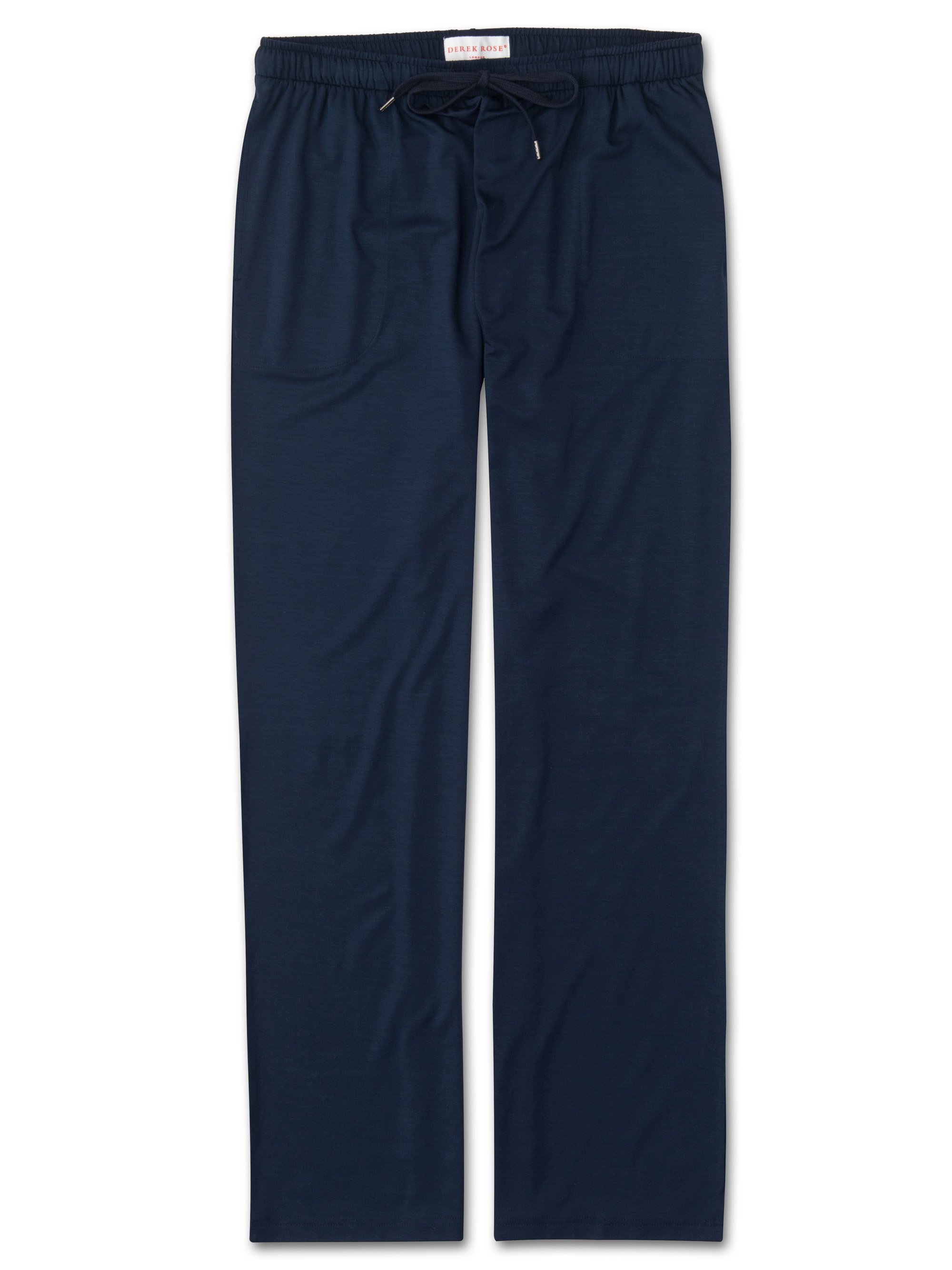 Men's Jersey Trousers Basel Micro Modal Stretch Navy