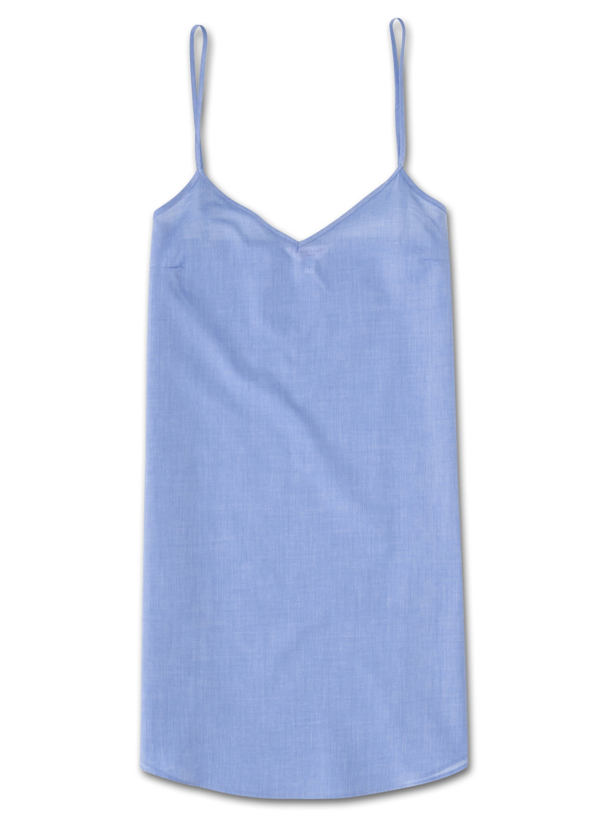 Women's Chemise Amalfi Cotton Batiste Blue
