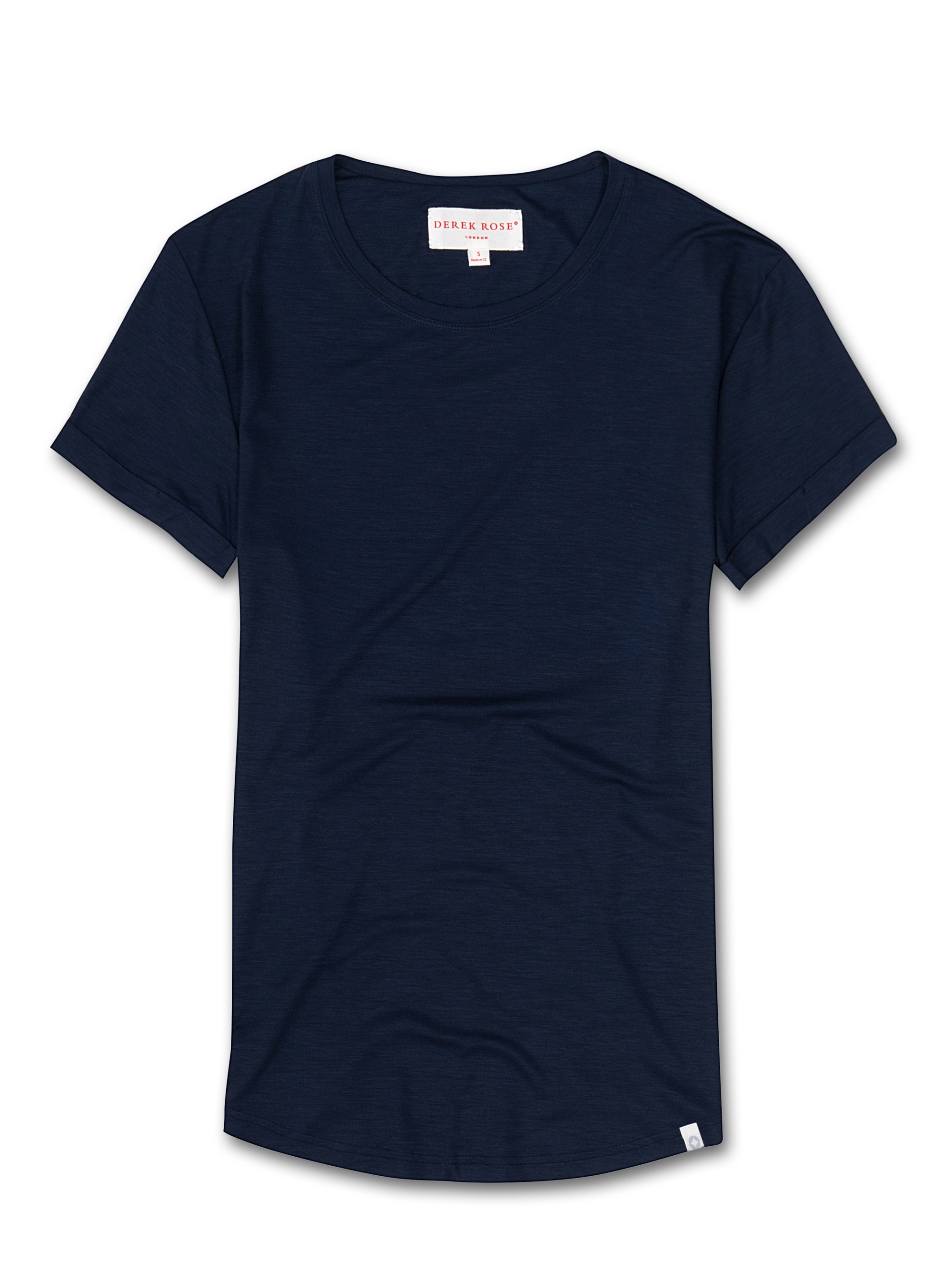 Women's Leisure T-Shirt Carla Micro Modal Stretch Midnight