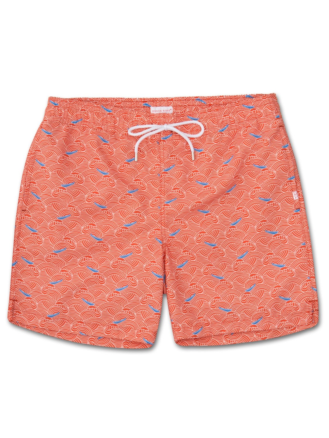 Men's Classic Fit Swim Shorts Maui 7 Orange