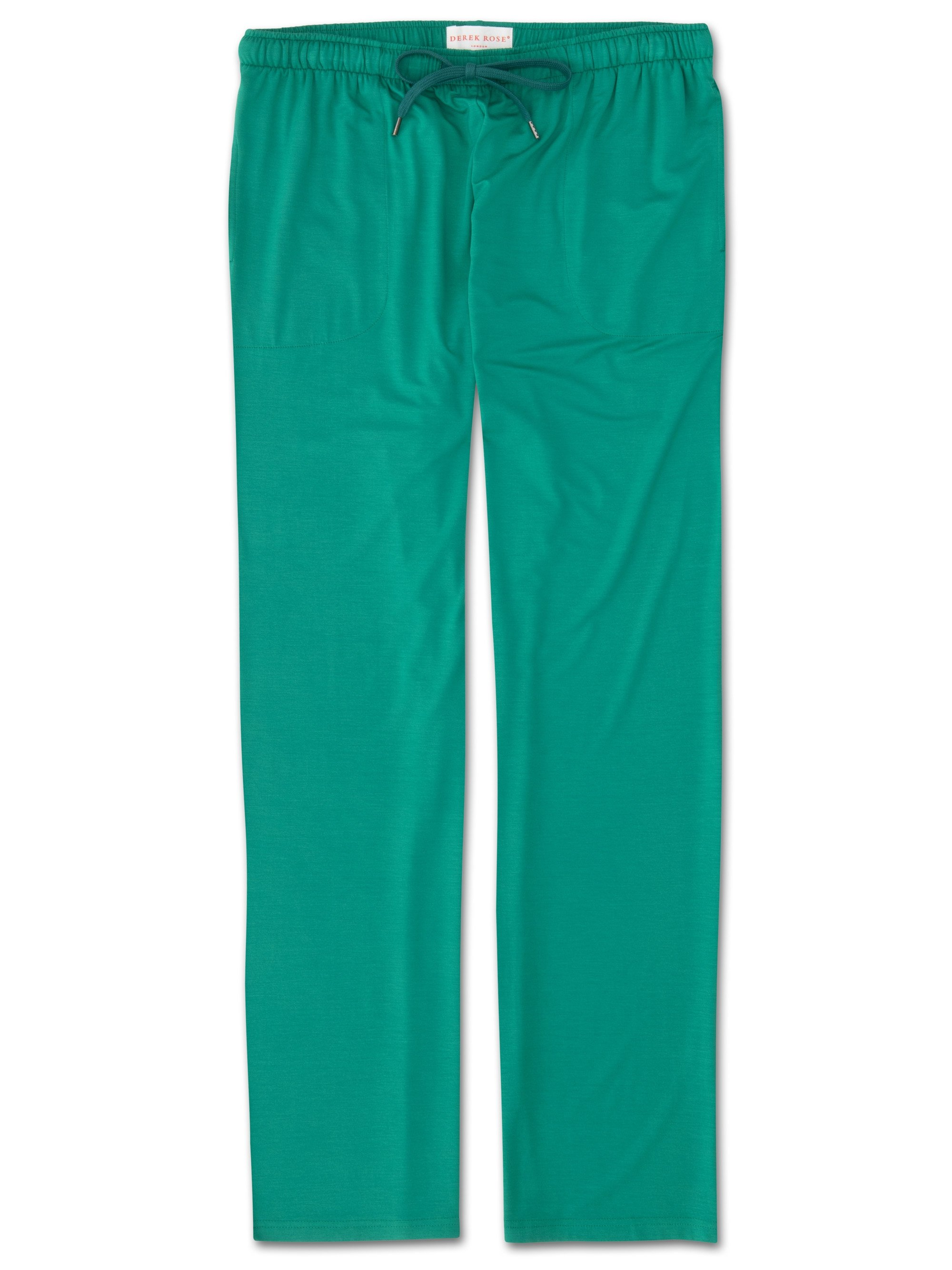 Men's Jersey Trousers Basel 6 Micro Modal Stretch Green
