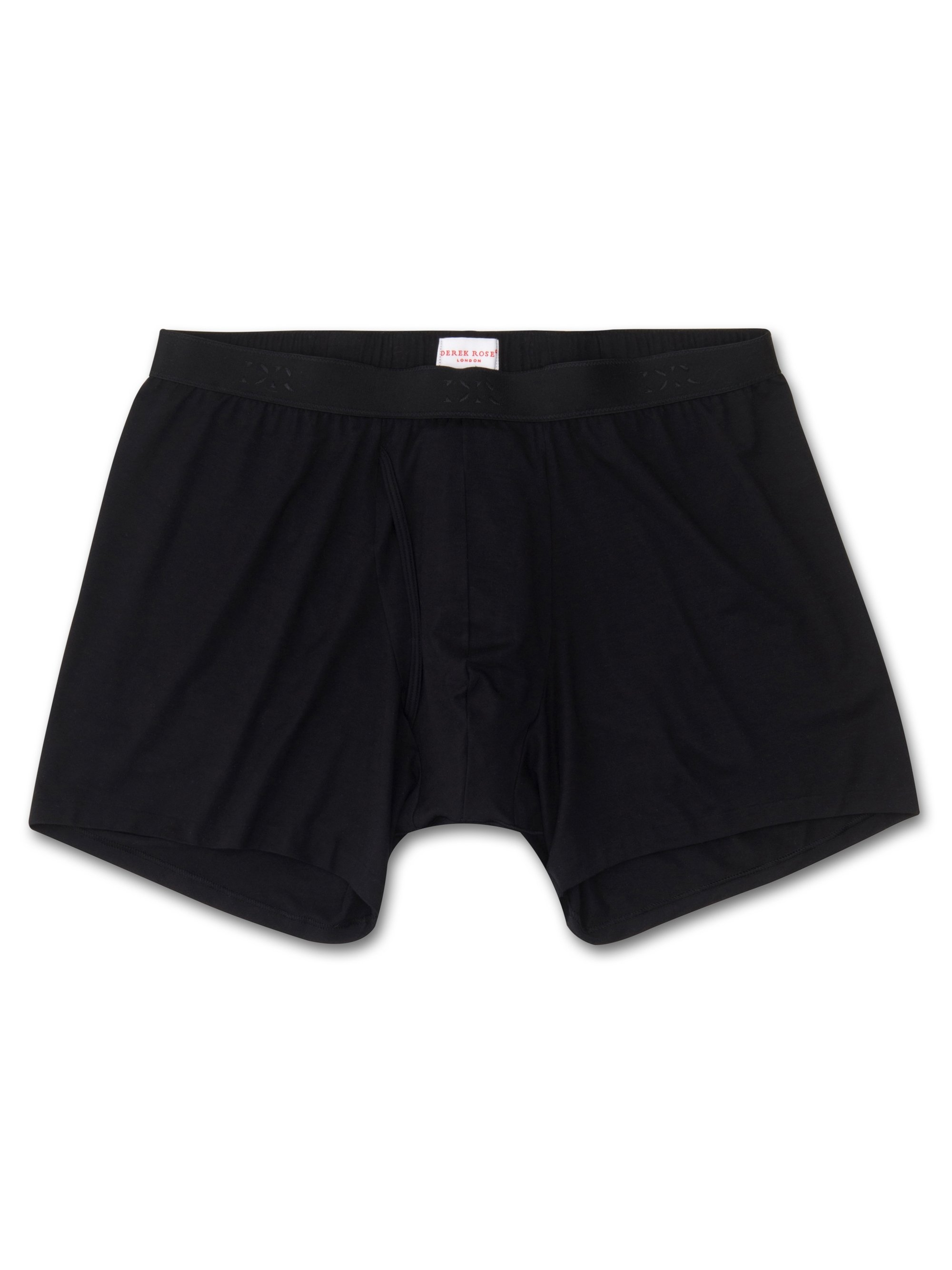 Men's Trunks Alex Micro Modal Stretch Black