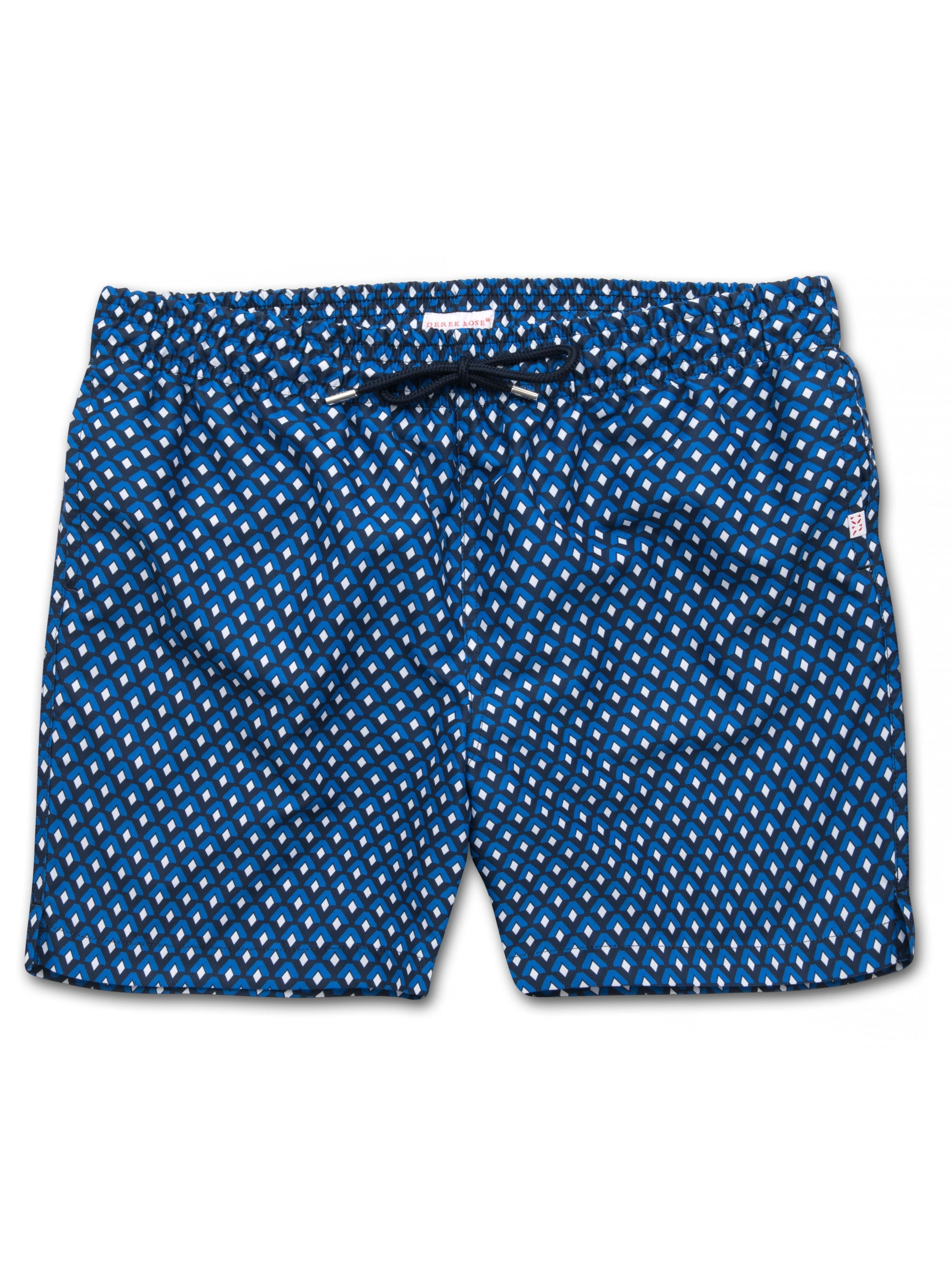 Men's Classic Fit Swim Shorts Tropez 7 Navy