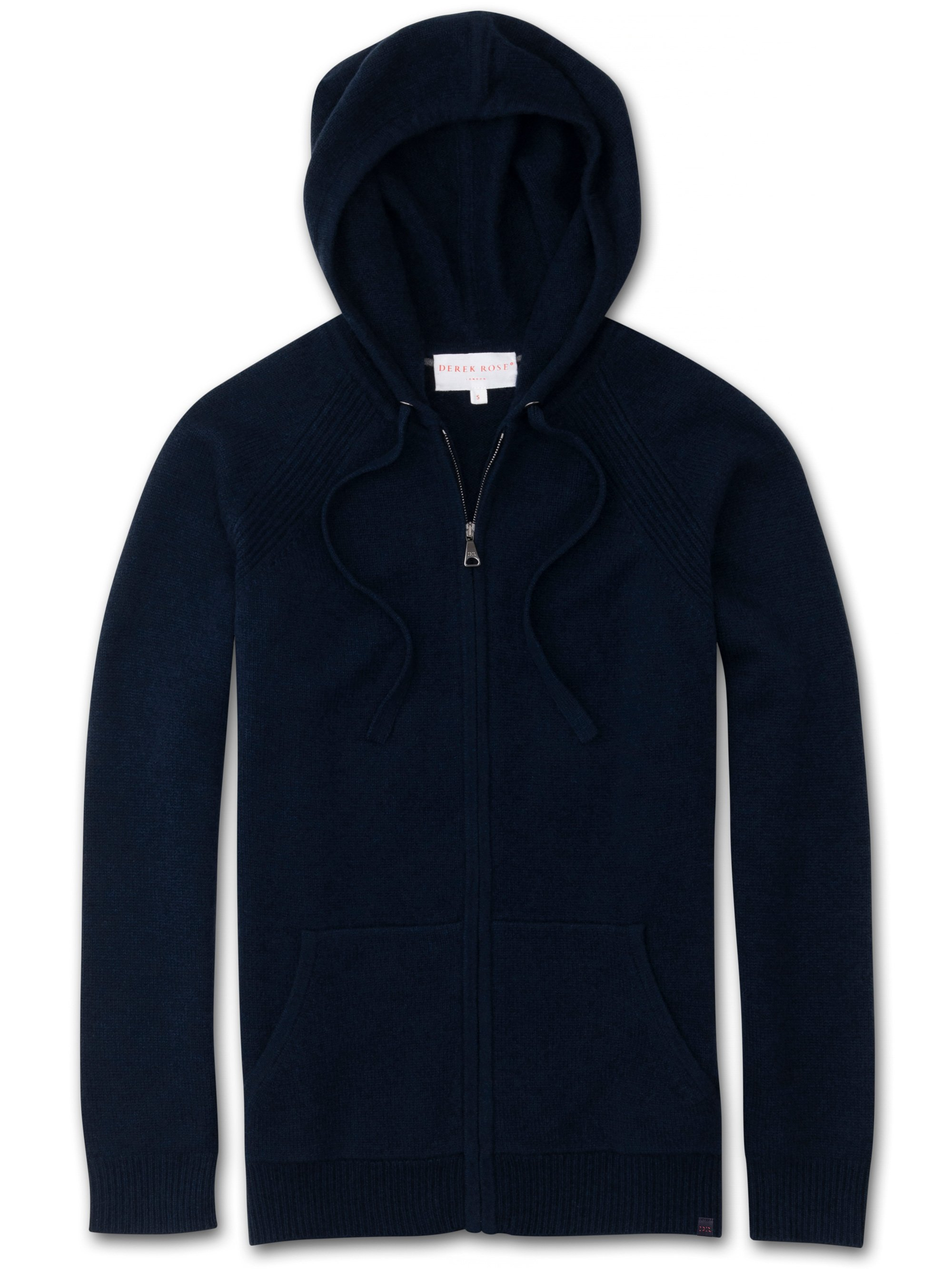 Women's Cashmere Hoodie Daphne Pure Cashmere Navy