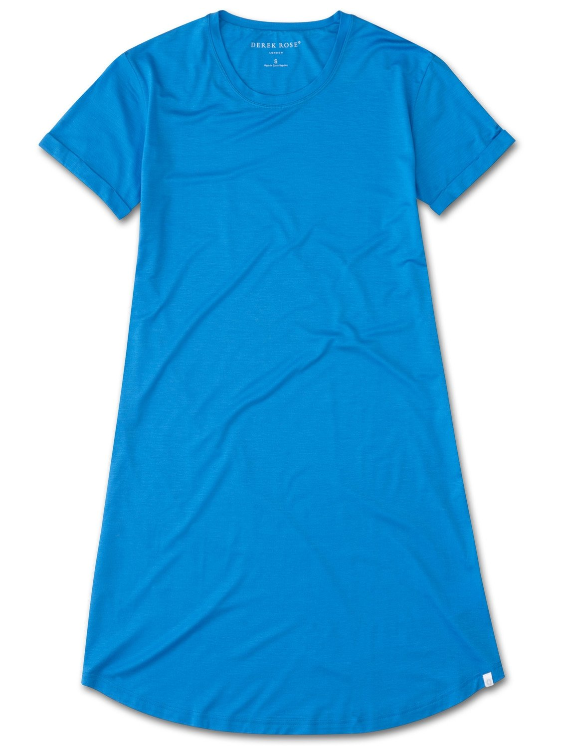 Women's Sleep T-Shirt Carla 3 Micro Modal Stretch Blue