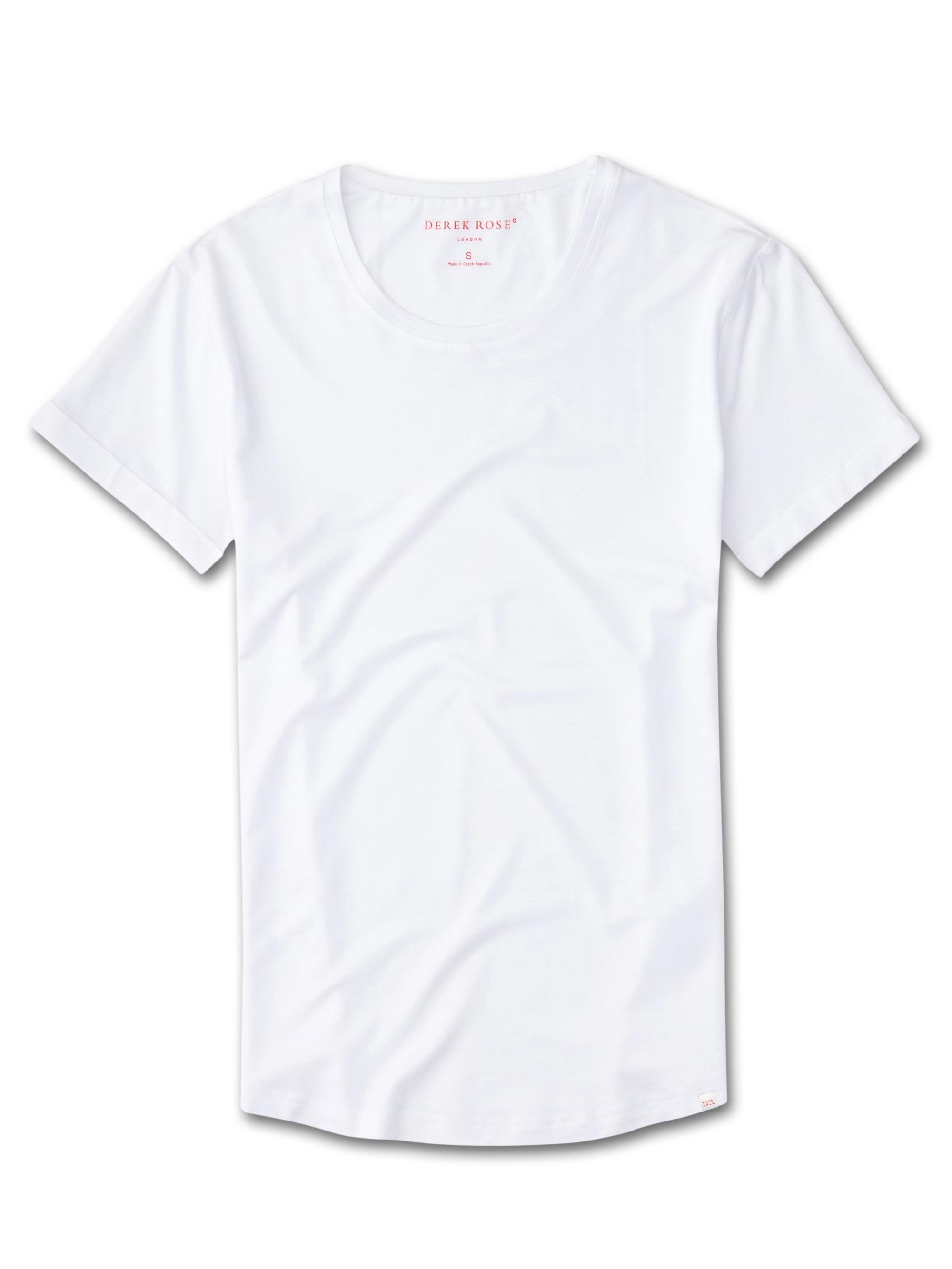 Women's Leisure T-Shirt Lara Micro Modal Stretch White