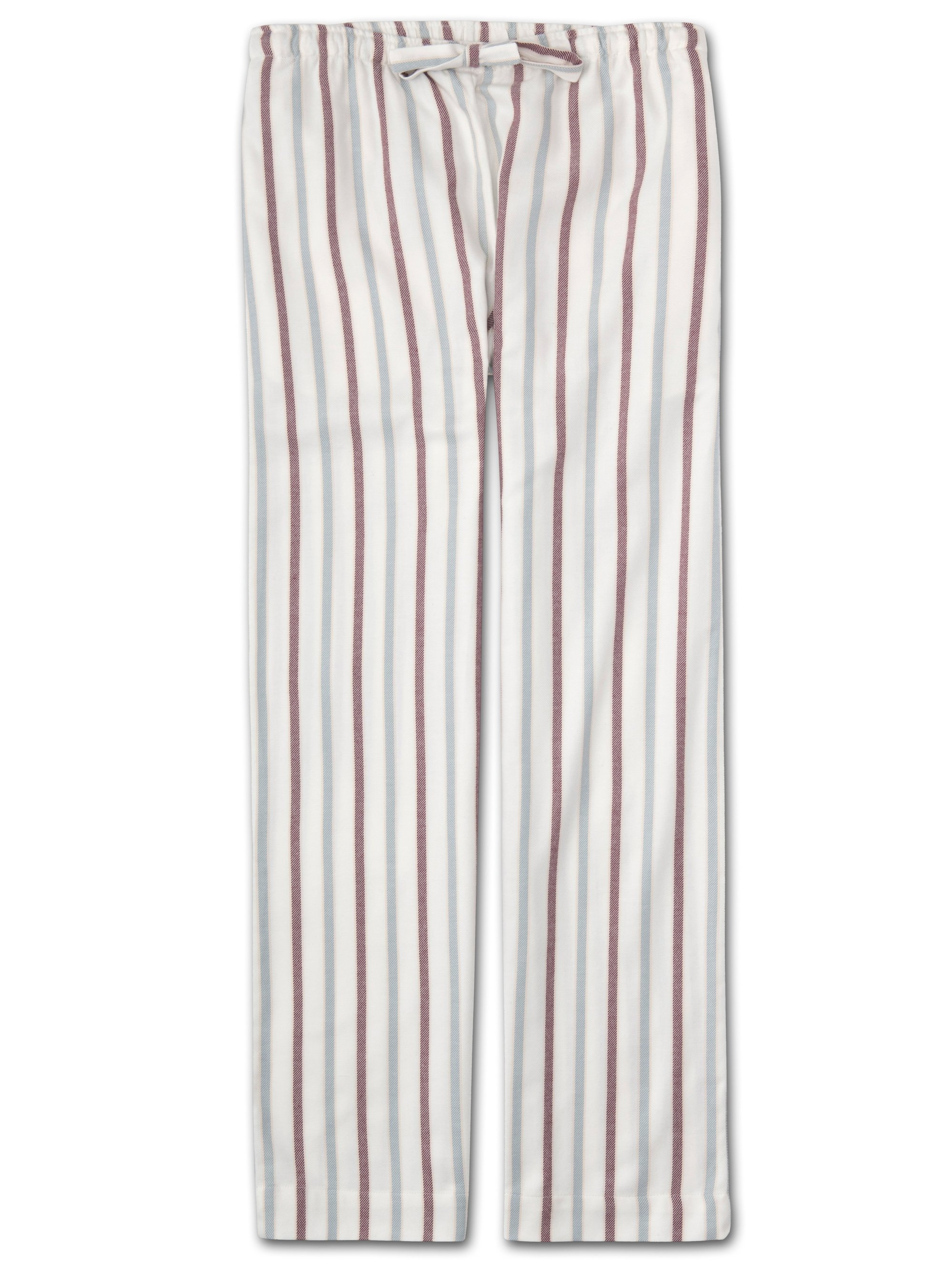 Women's Lounge Trousers Kelburn 13 Brushed Cotton Stripe Multi