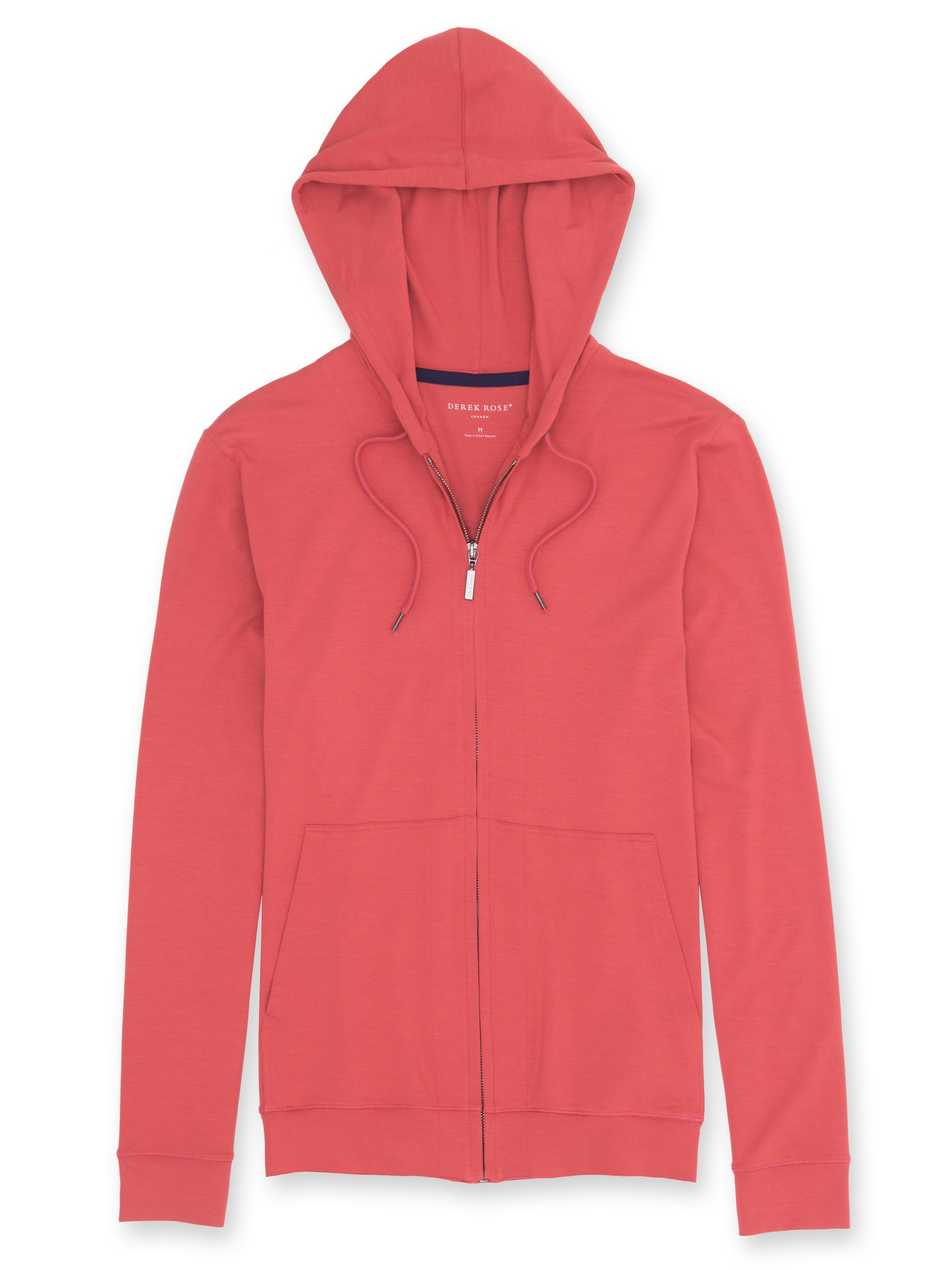 Basel 1 Coral Hooded Top