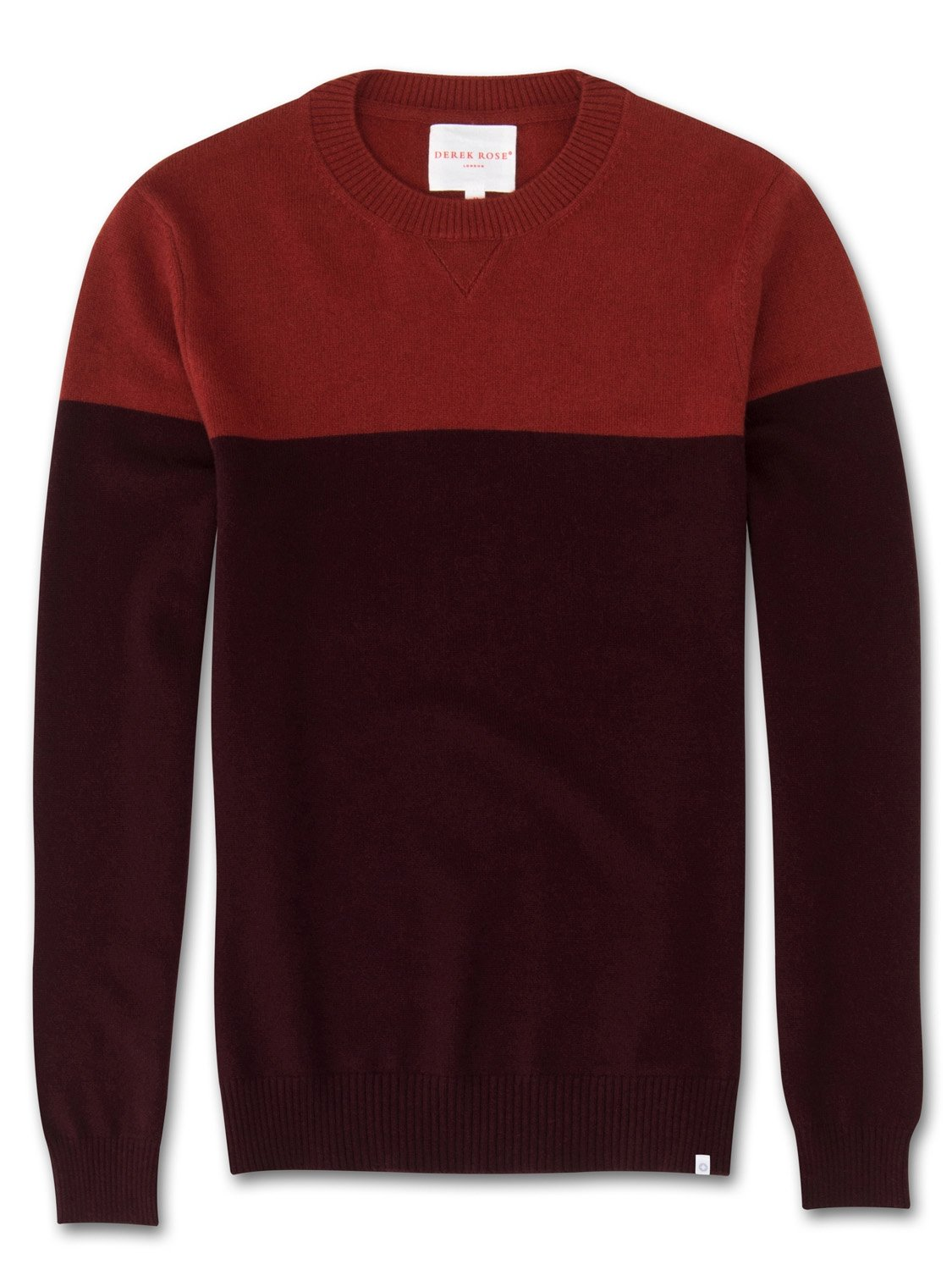 Men's Cashmere Sweater Francis Pure Cashmere Burgundy
