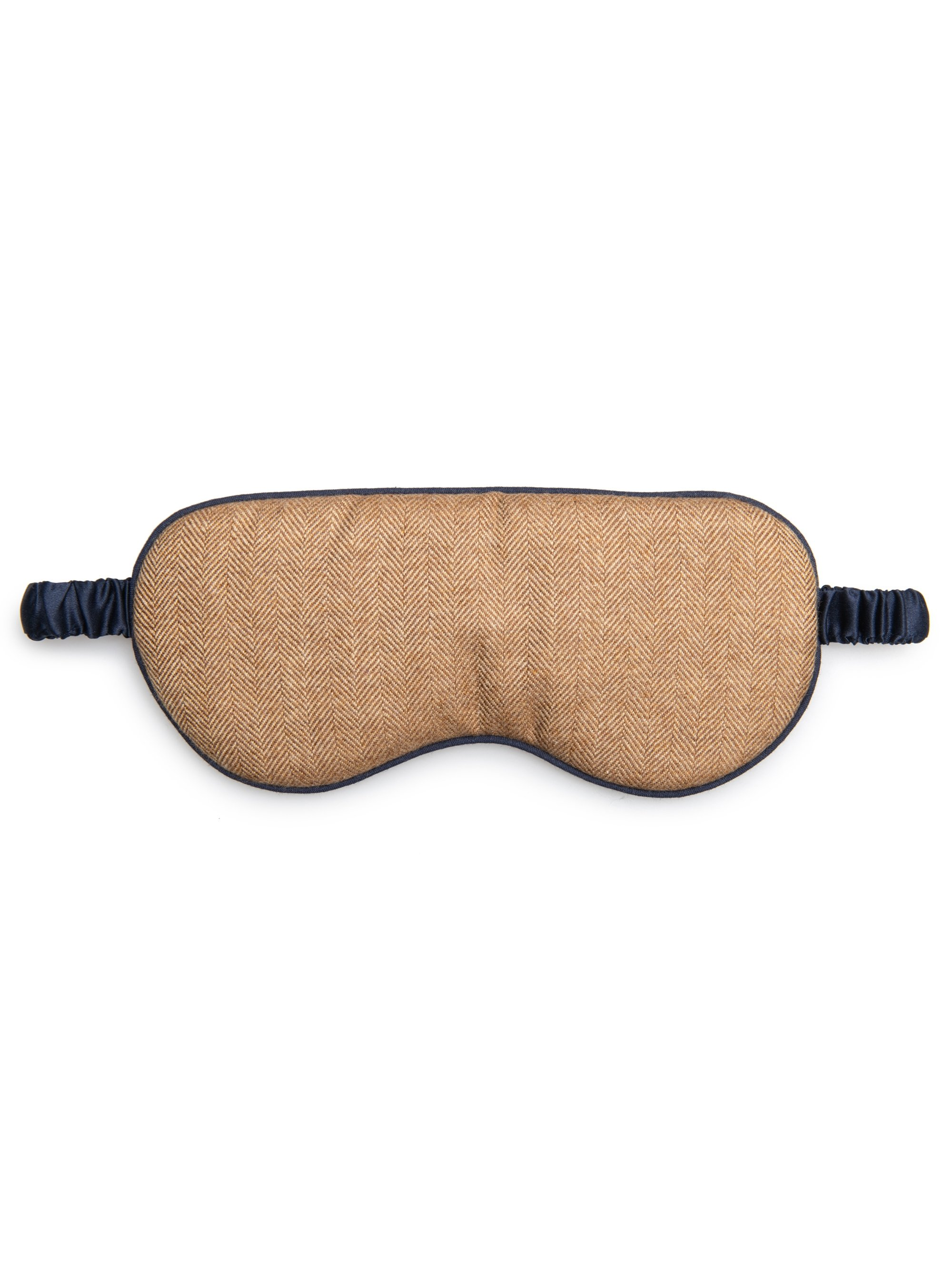 Eye Mask Duke Pure Cashmere Camel