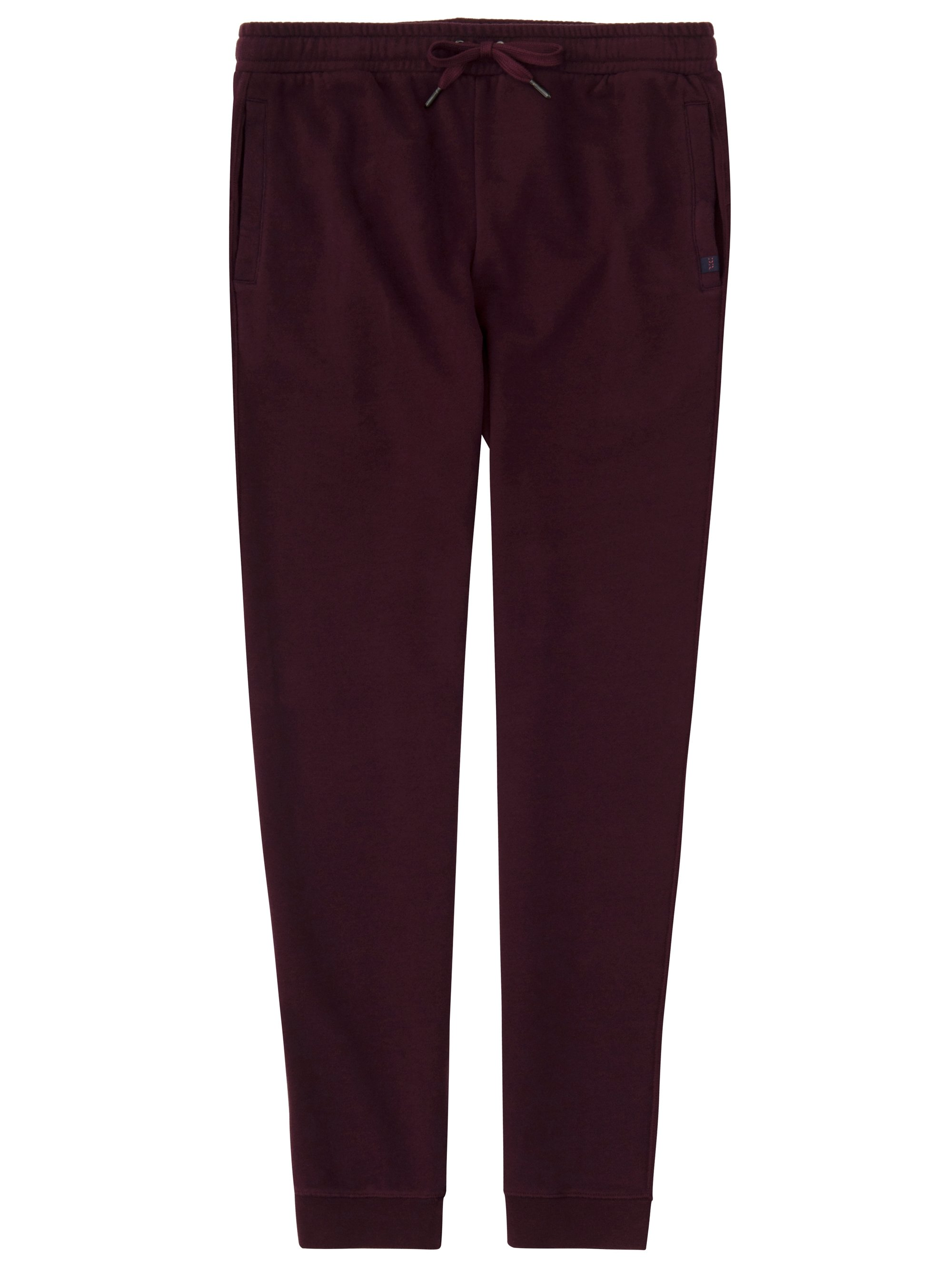 Men's Sweatpants Devon 2 Loopback Cotton Burgundy
