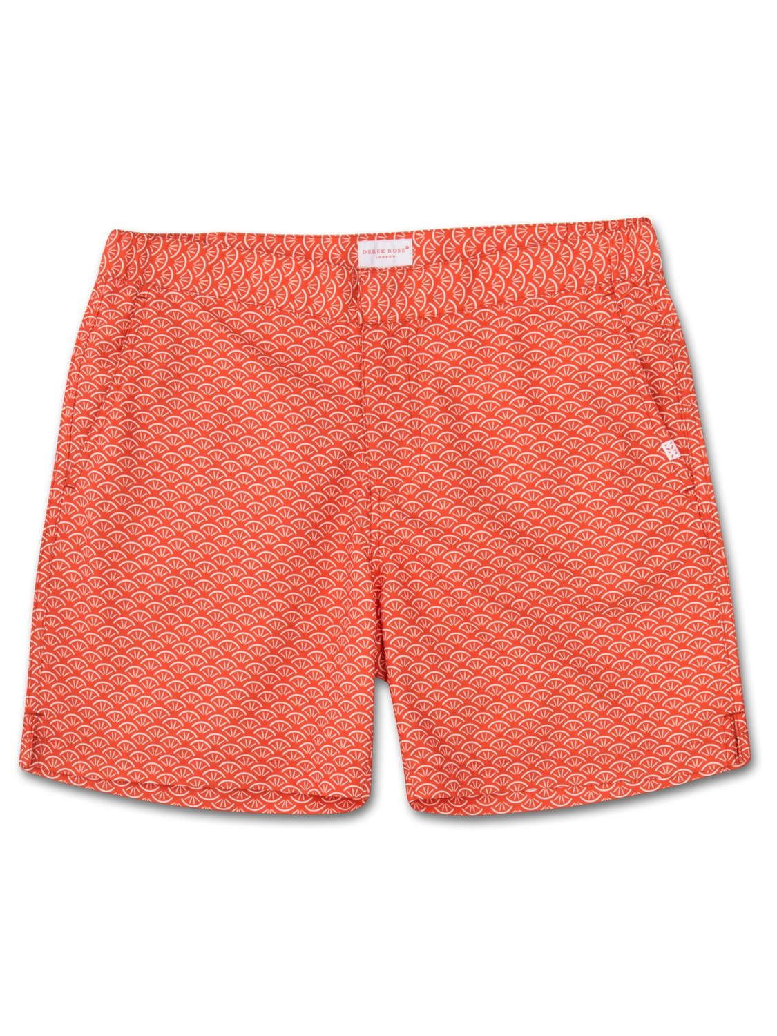 Men's Modern Fit Swim Shorts Tropez 3 Orange