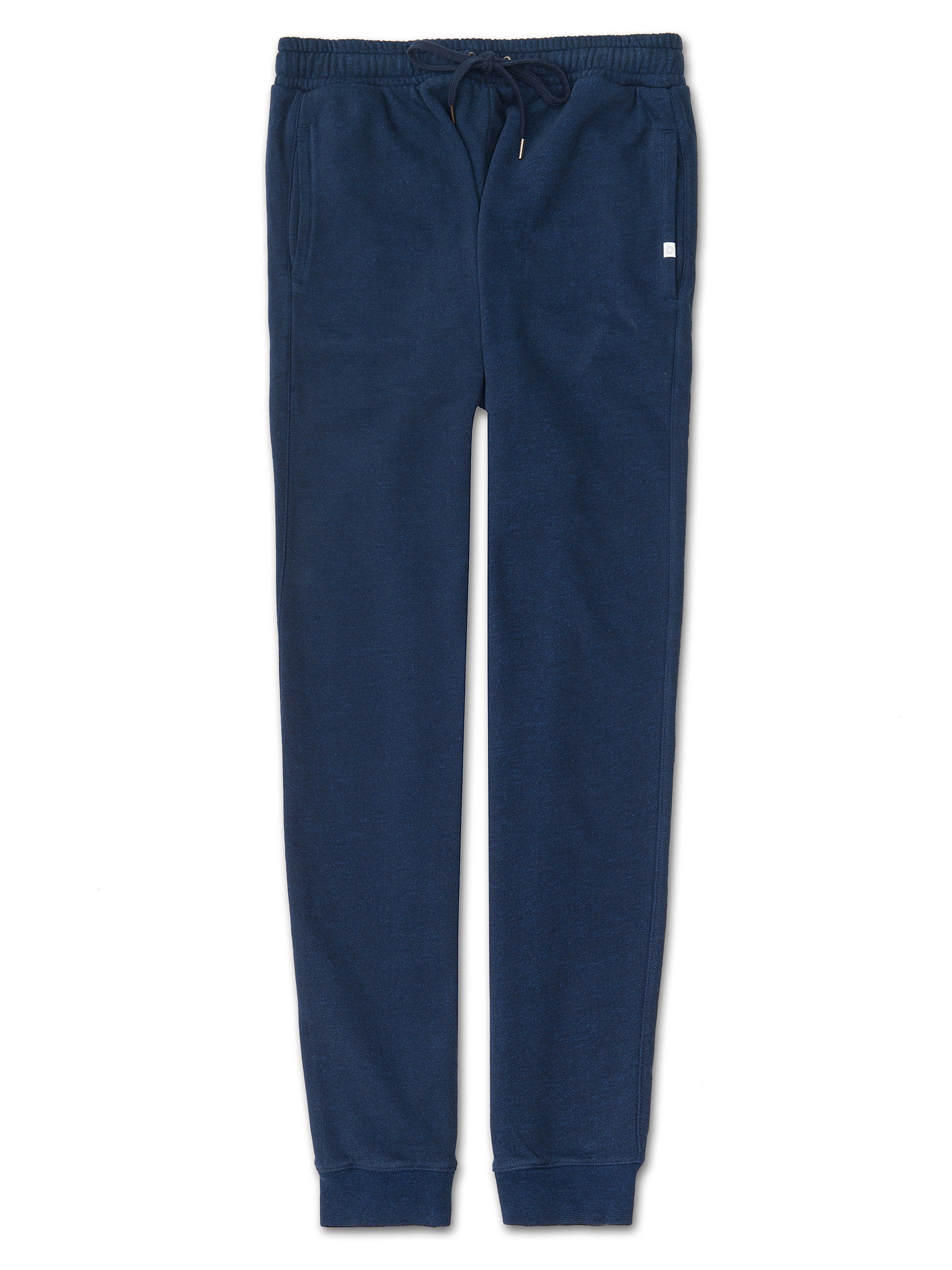 Men's Sweatpants Devon Loopback Cotton Navy