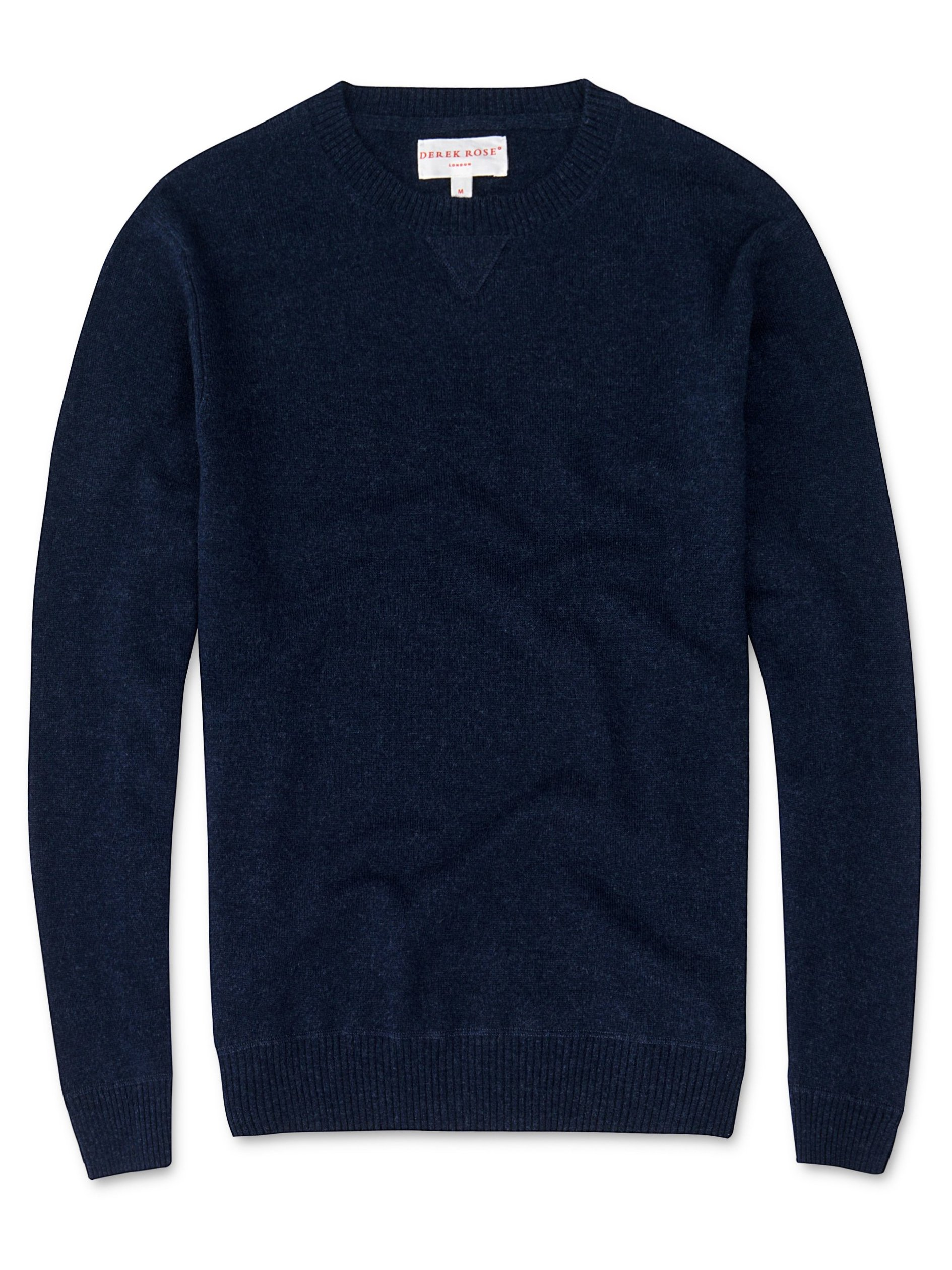 Men's Cashmere Sweater Finley Pure Cashmere Midnight