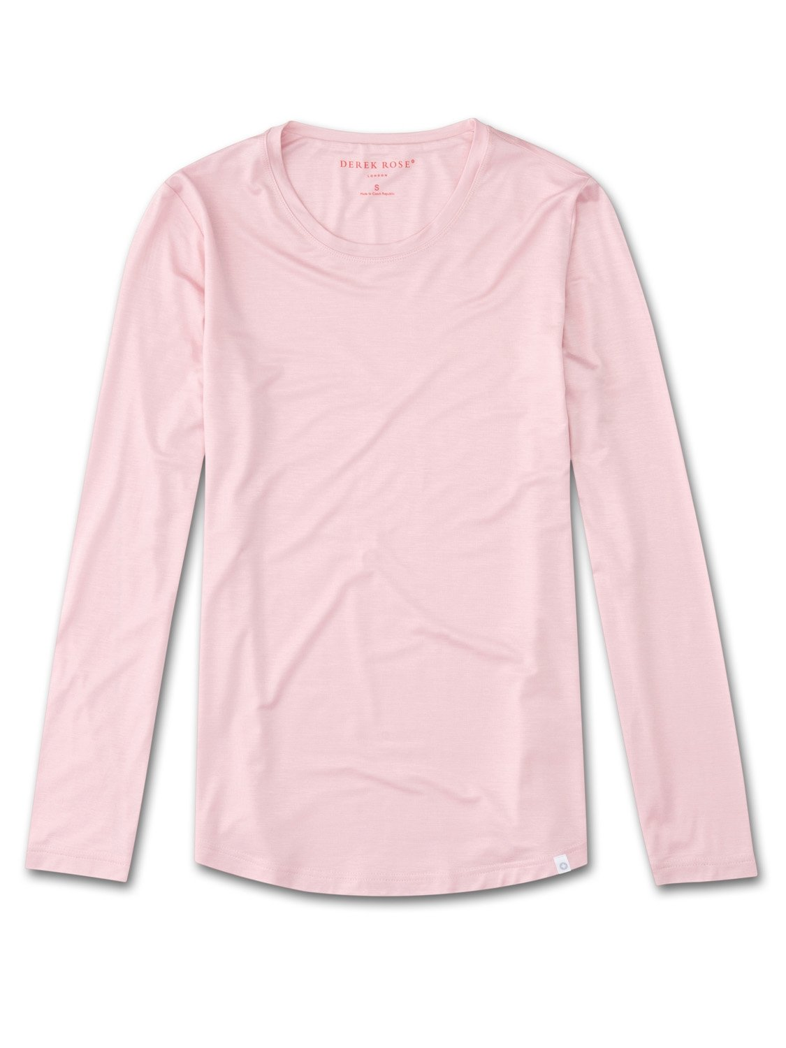 Women's Long Sleeve T-Shirt Carla 3 Micro Modal Stretch Pink