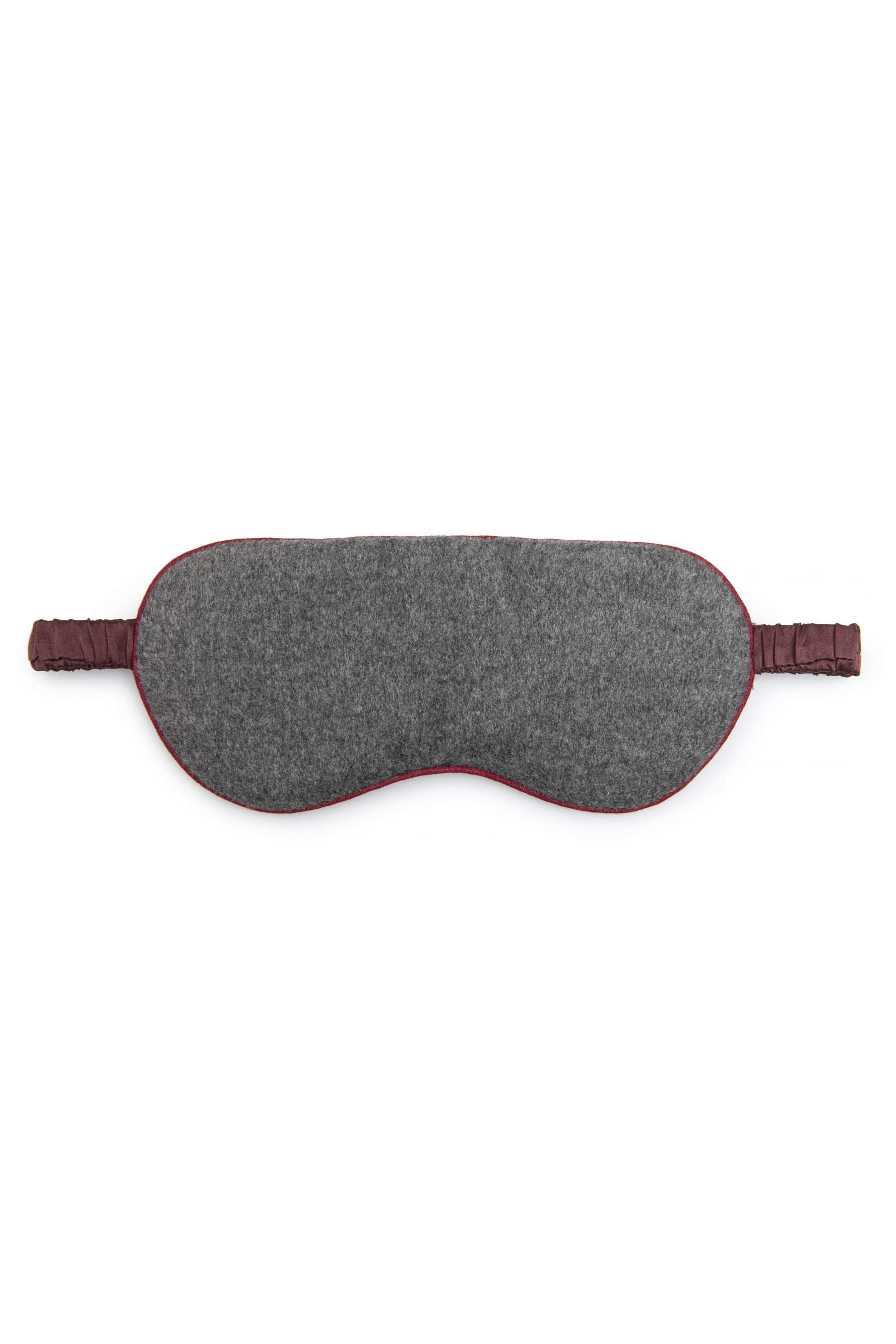 Eye Mask Duke 2 Pure Cashmere Charcoal