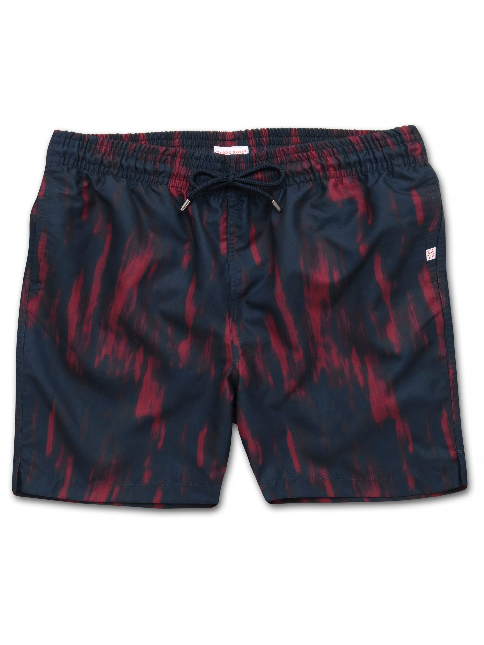 Men's Classic Fit Swim Shorts Maui 23 Red