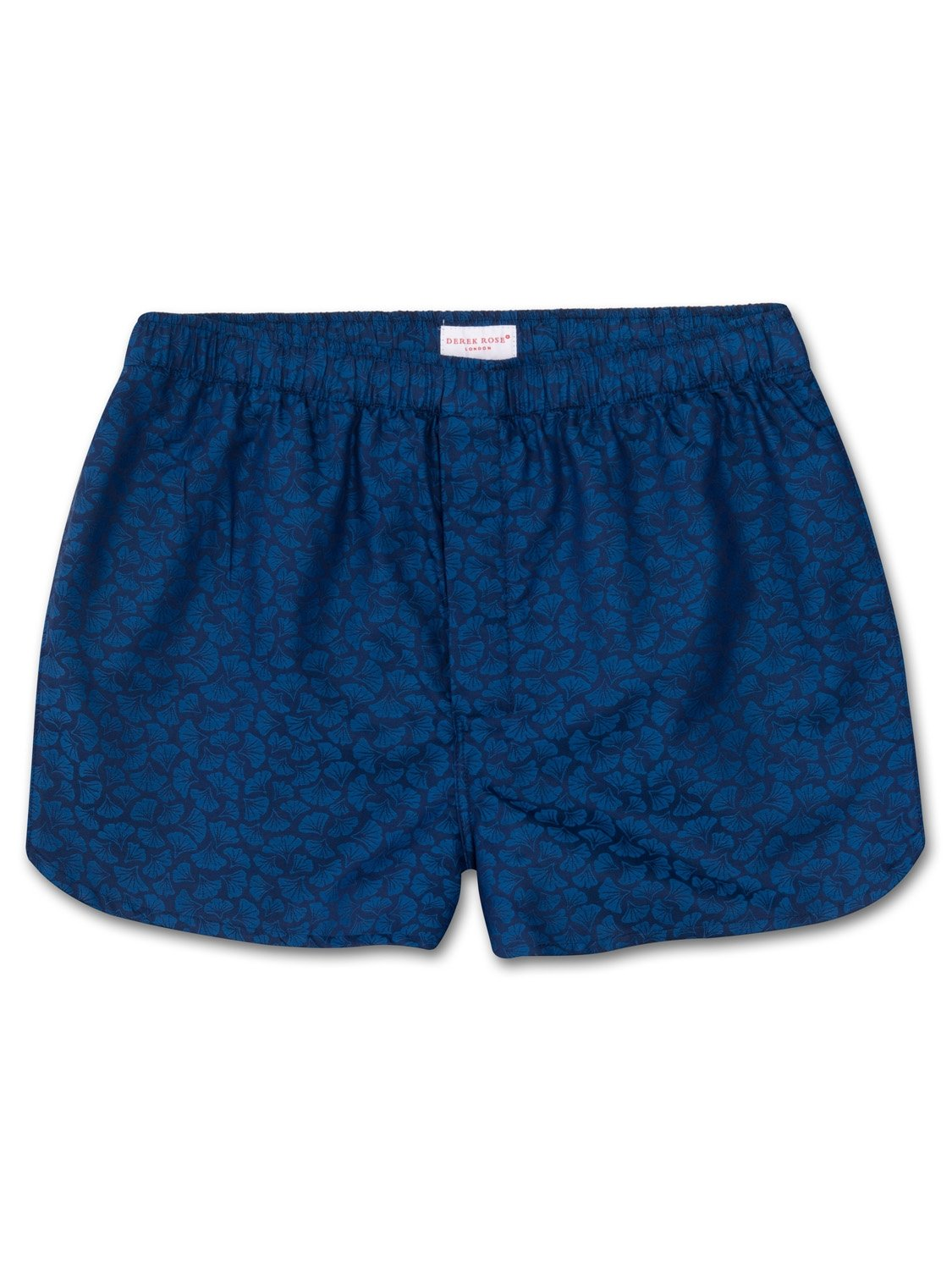 Men's Modern Fit Boxer Shorts Paris 14 Cotton Jacquard Navy