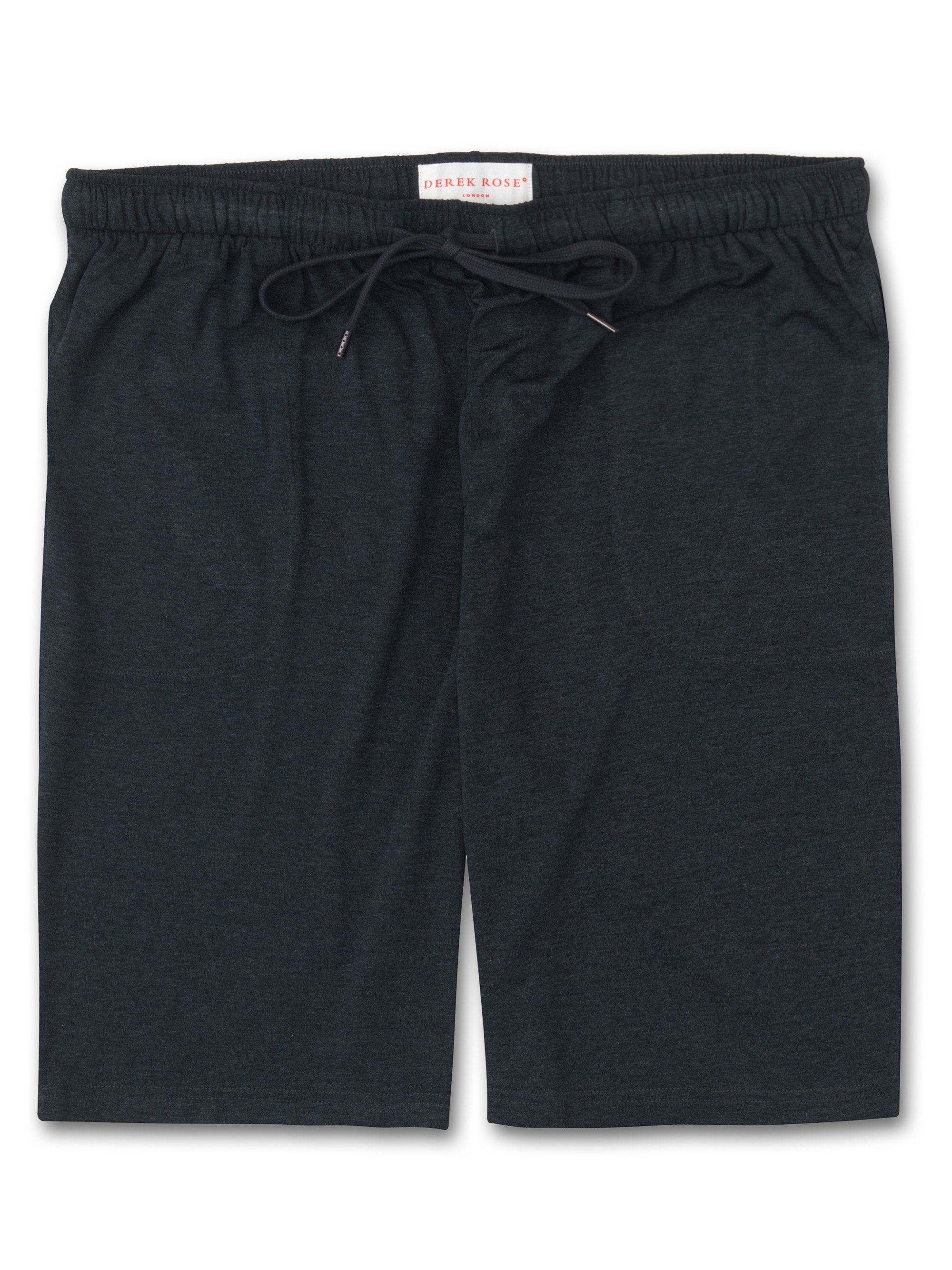 Men's Jersey Shorts Marlowe Micro Modal Stretch Anthracite