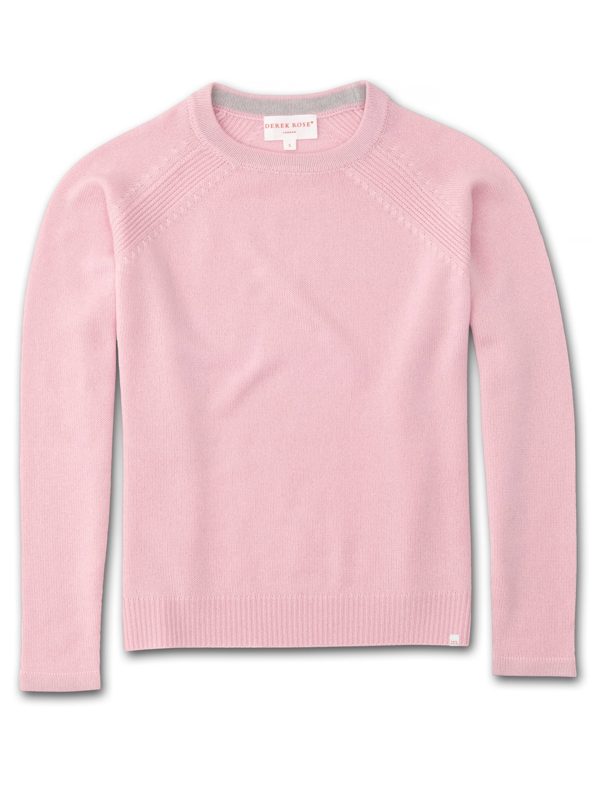 Women's Cashmere Sweater Daphne Pure Cashmere Pink