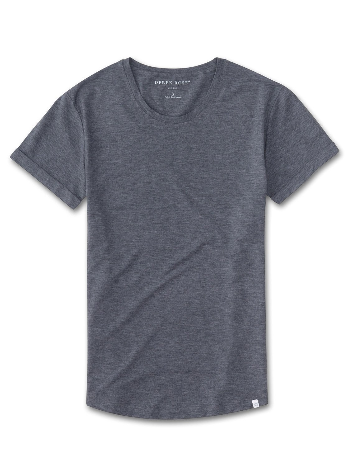 Women's Leisure T-Shirt Ethan 2 Micro Modal Stretch Charcoal