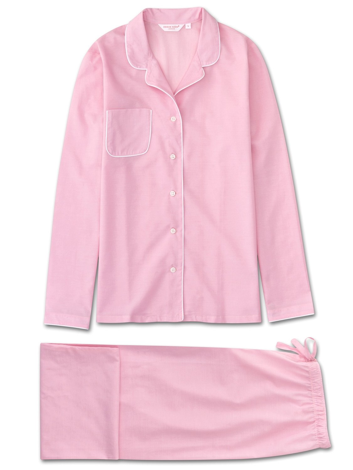 Women's Pyjamas Amalfi Cotton Batiste Rose