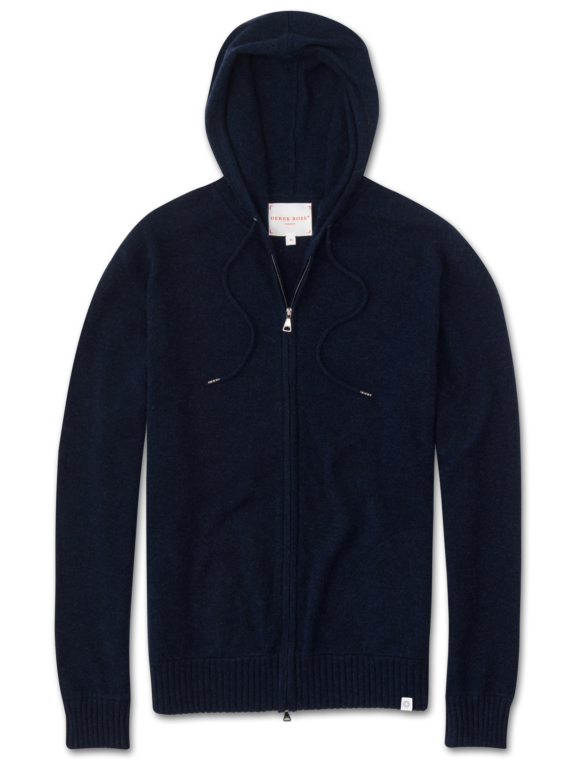 Men's Cashmere Hoodie Finley Pure Cashmere Midnight