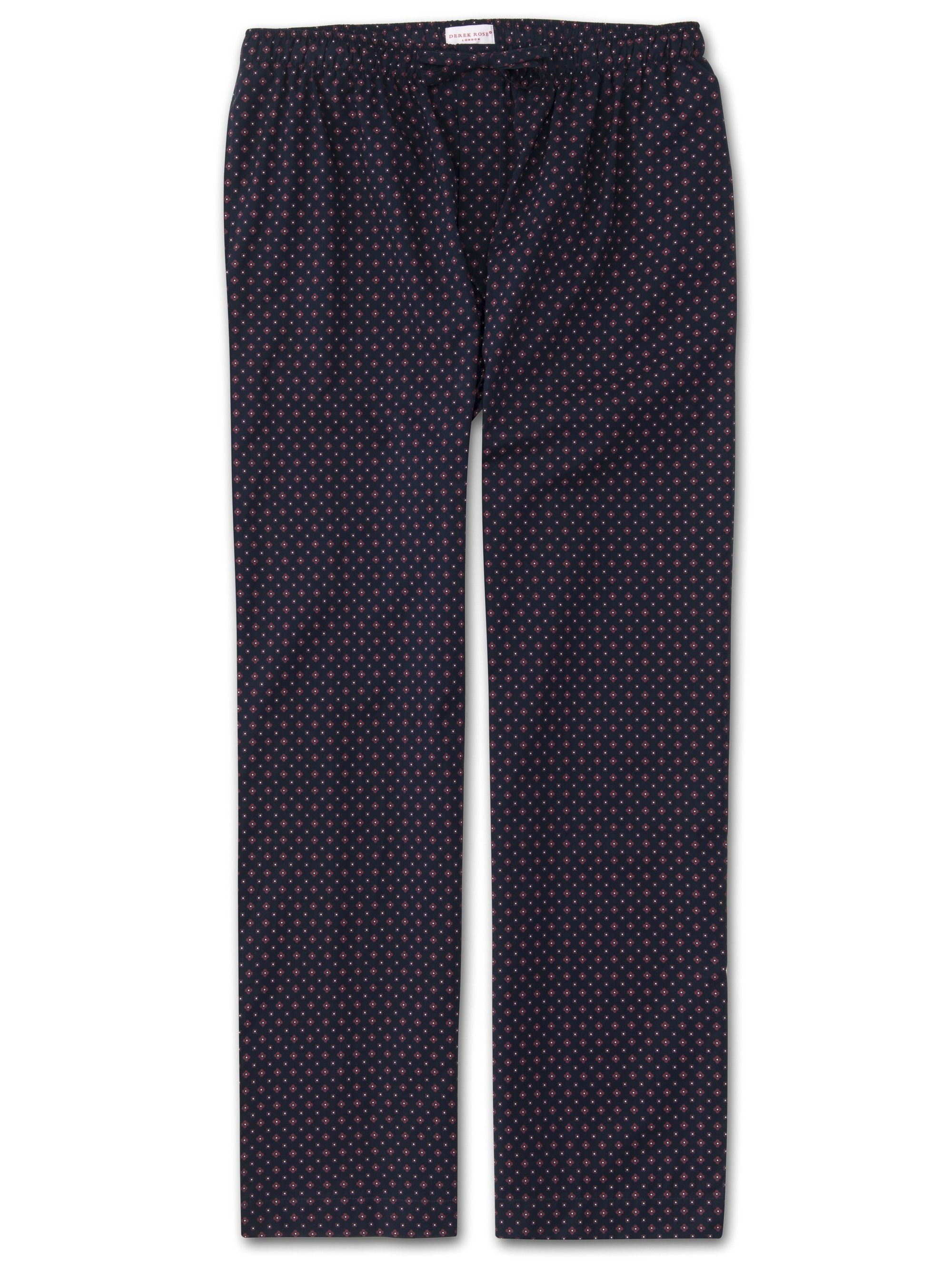 Men's Lounge Trousers Nelson 72 Cotton Batiste Navy