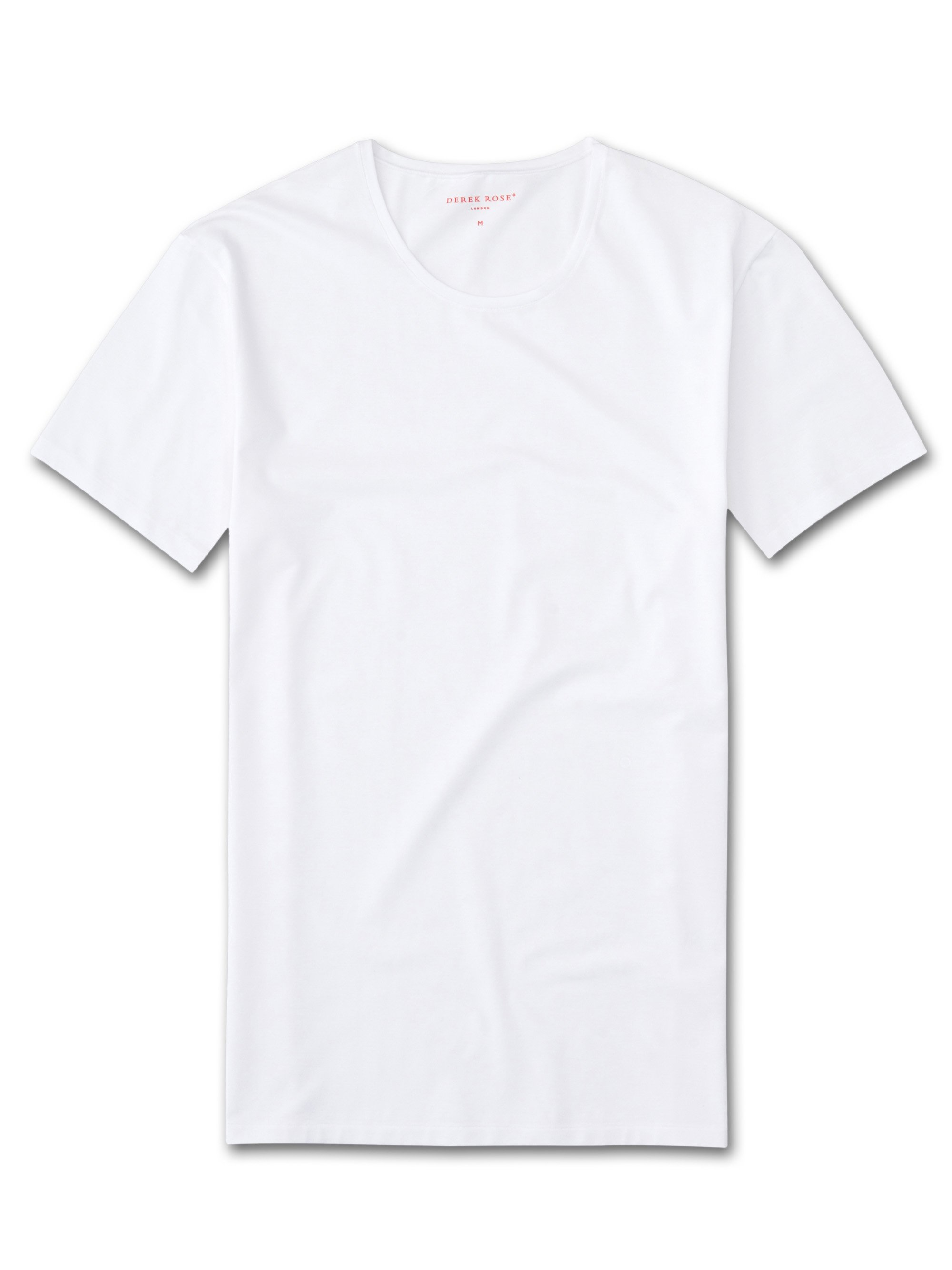 Men's Underwear Crew-Neck T-Shirt Jack Pima Cotton Stretch White