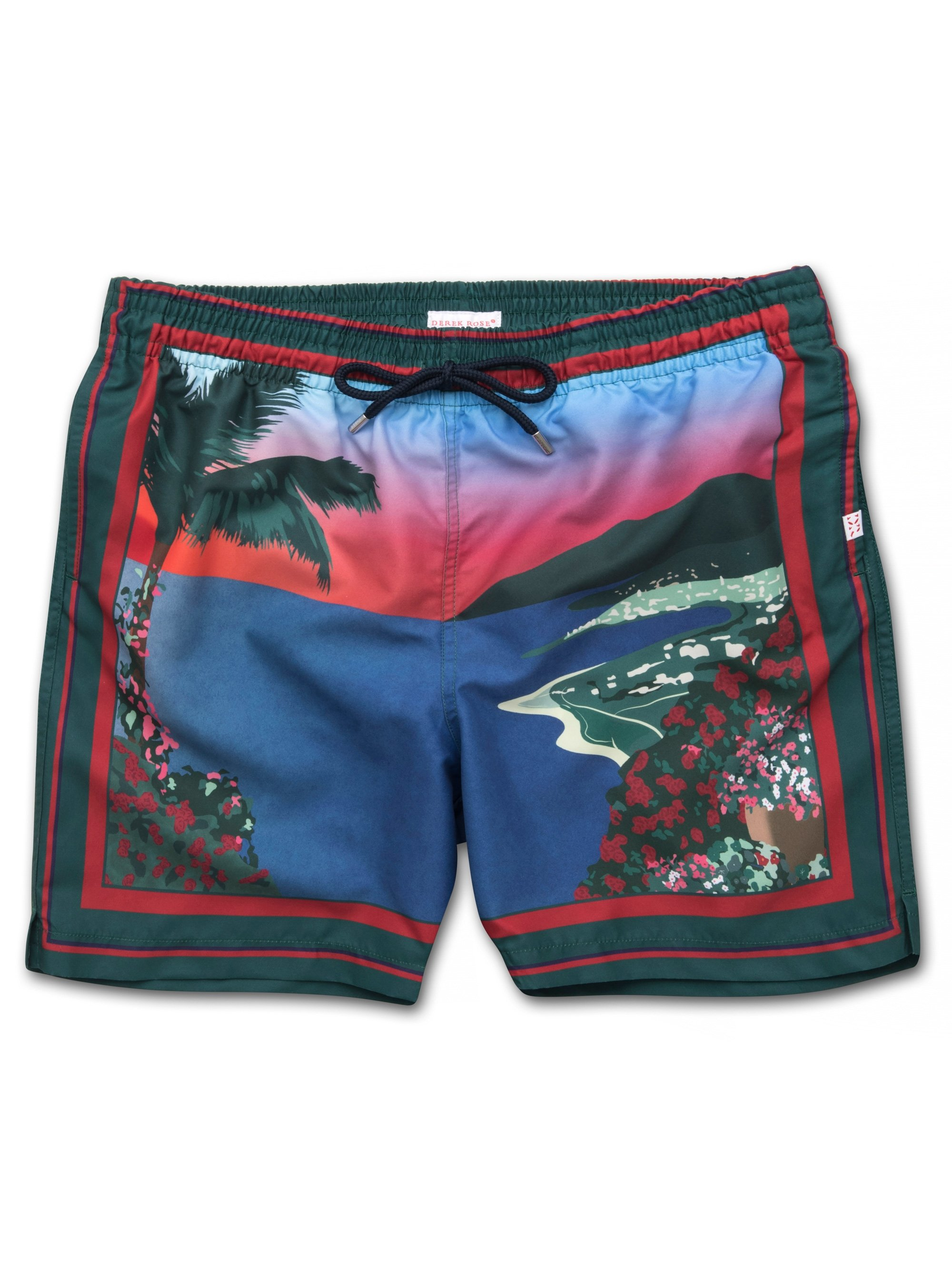 Men's Classic Fit Swim Shorts Oahu Green