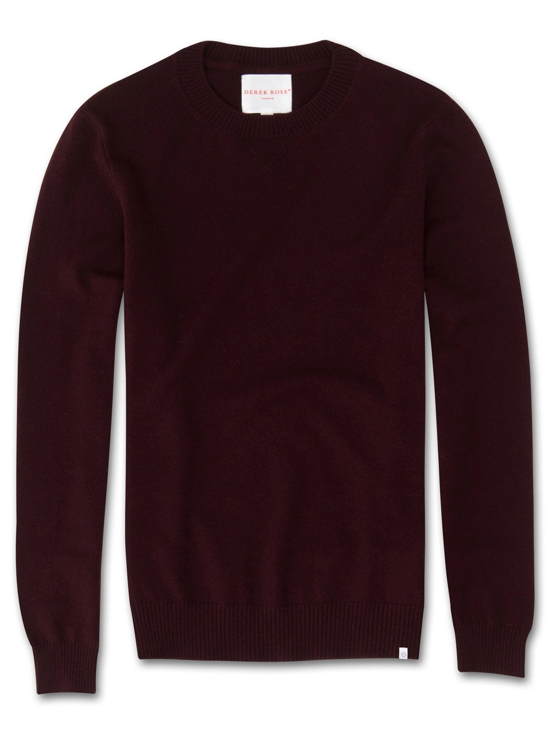 Men's Cashmere Sweater Finley Pure Cashmere Burgundy