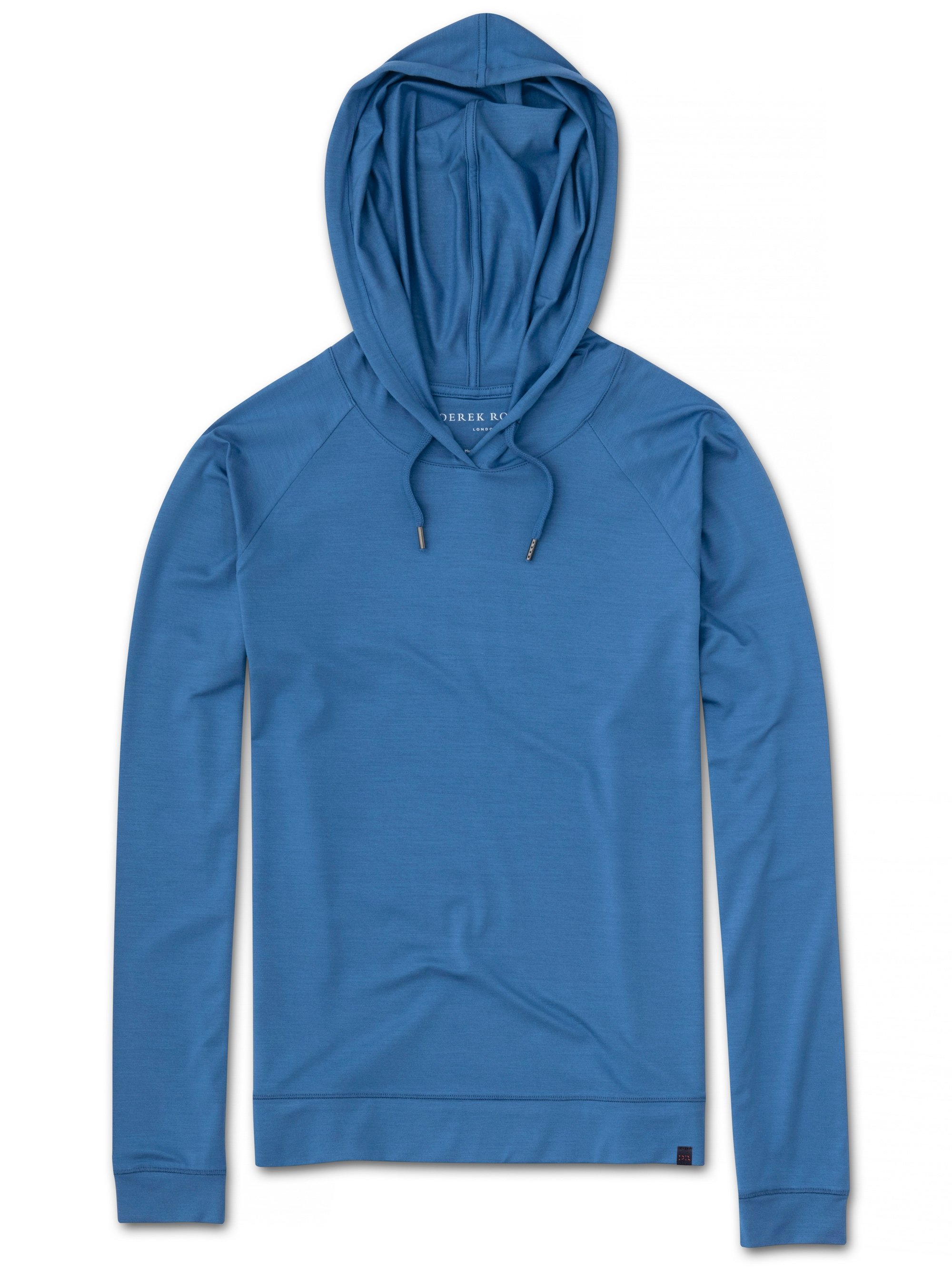 Women's Jersey Pullover Hoodie Basel 9 Micro Modal Stretch Blue