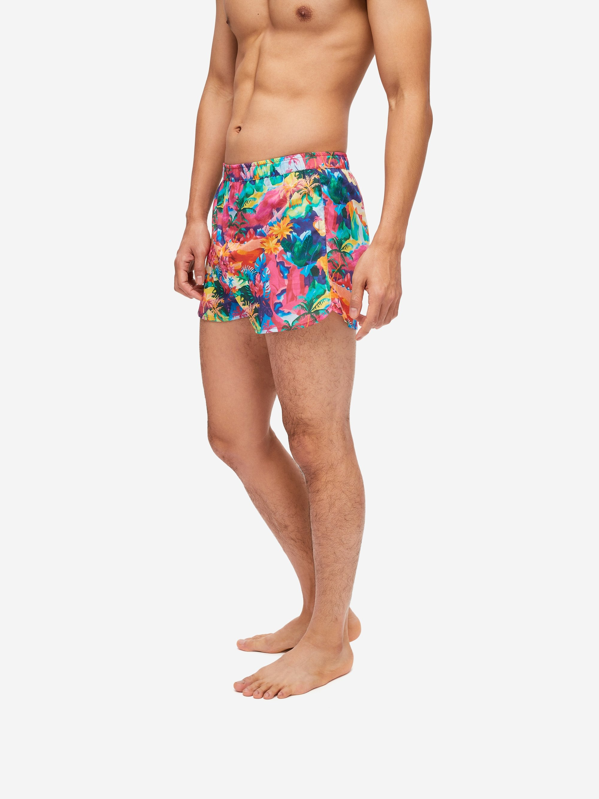 Men's Modern Fit Boxer Shorts Ledbury 41 Cotton Batiste Multi