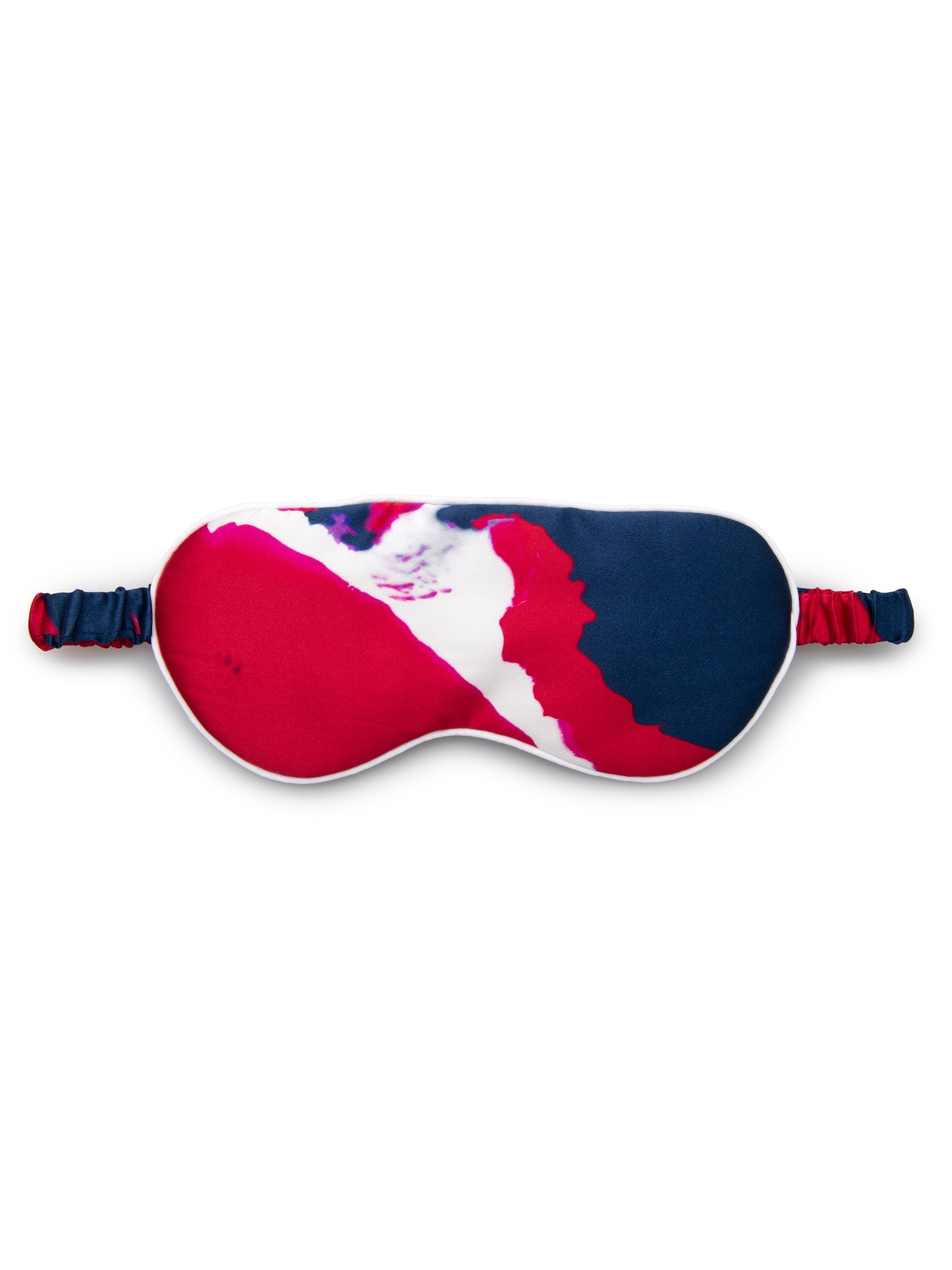 Reversible Eye Mask Brindisi 61 Pure Silk Satin Multi
