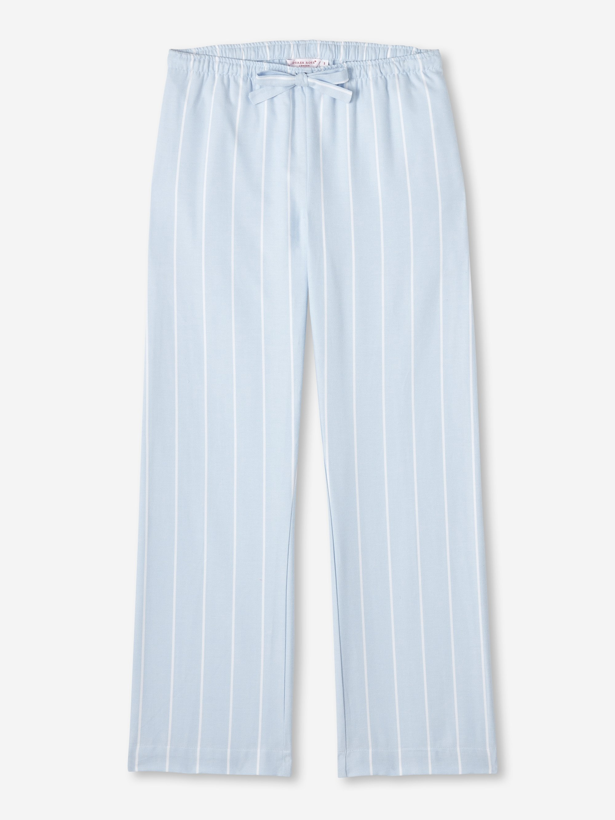 Women's Lounge Trousers Arctic 21 Brushed Cotton Stripe Blue