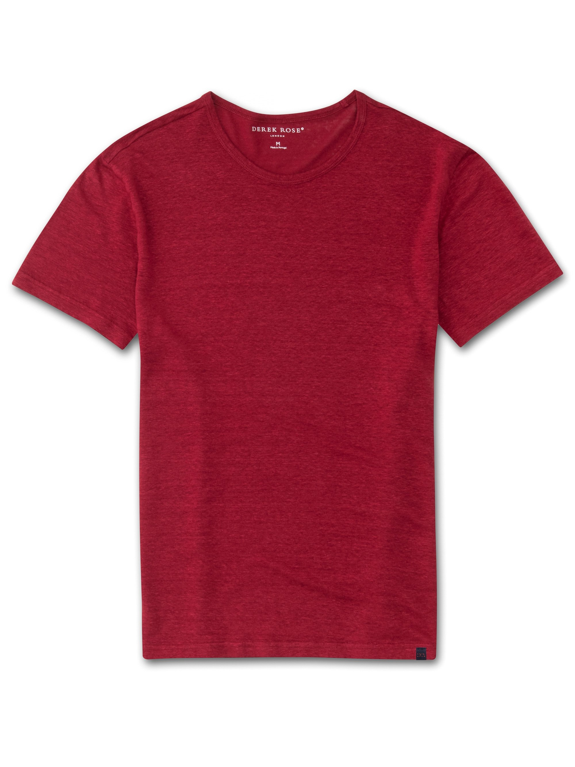 Men's Linen Short Sleeve T-Shirt Jordan Pure Linen Red