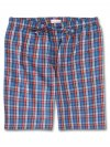 Men's Lounge Shorts Ranga 35 Brushed Cotton Check Multi