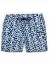 Men's Classic Fit Swim Shorts Tropez 8 Blue